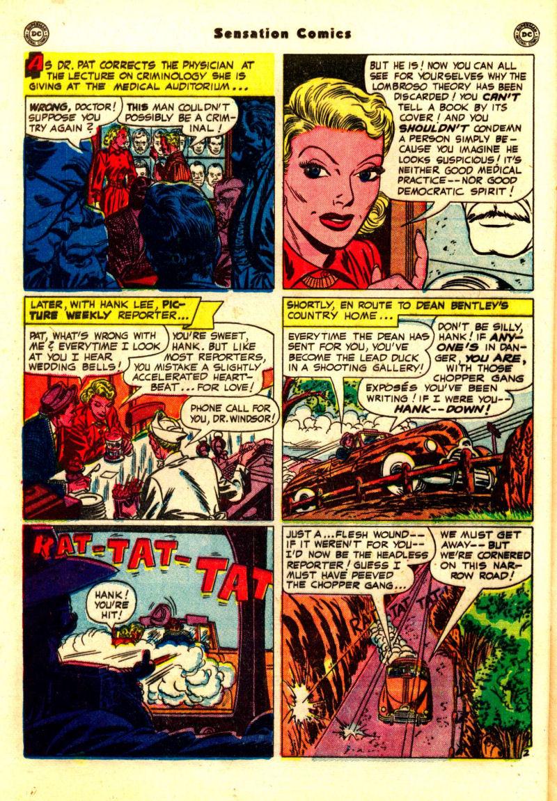 Read online Sensation (Mystery) Comics comic -  Issue #99 - 18