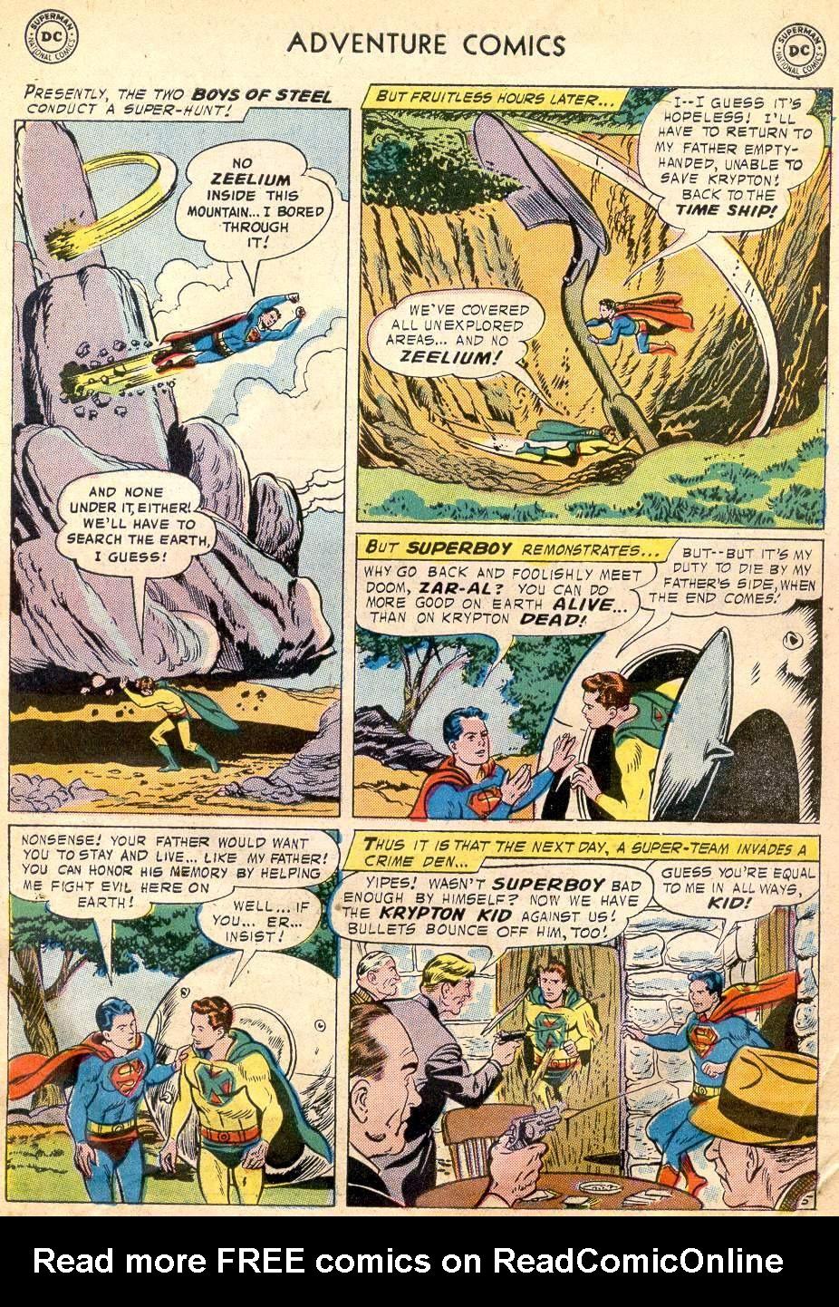 Read online Adventure Comics (1938) comic -  Issue #242 - 7