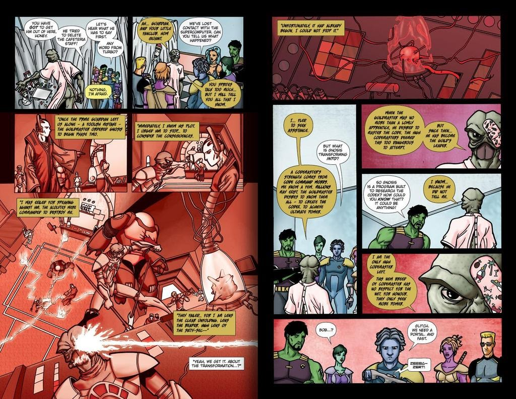 Read online ReBoot: Paradigms Lost comic -  Issue # Full - 16