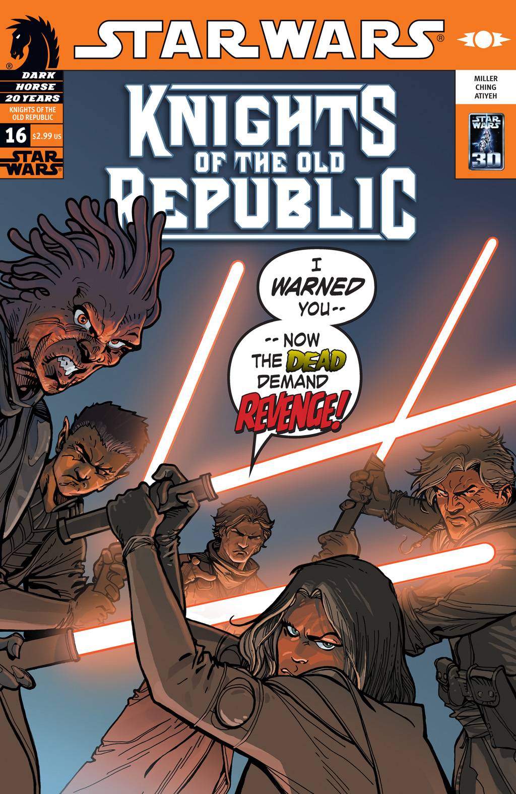 Star Wars: Knights Of The Old Republic issue 16 - Page 1