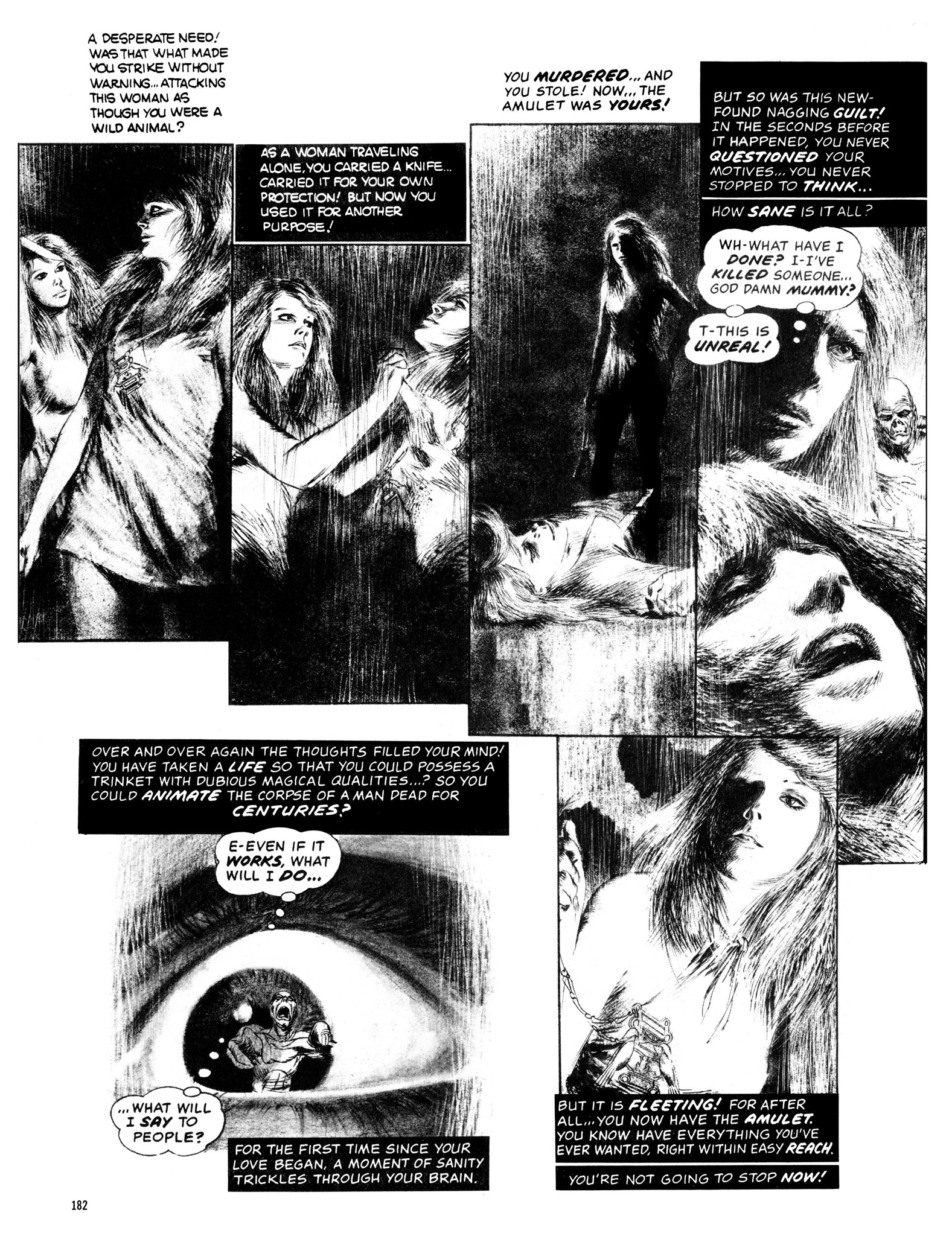 Read online Eerie Archives comic -  Issue # TPB 13 - 183