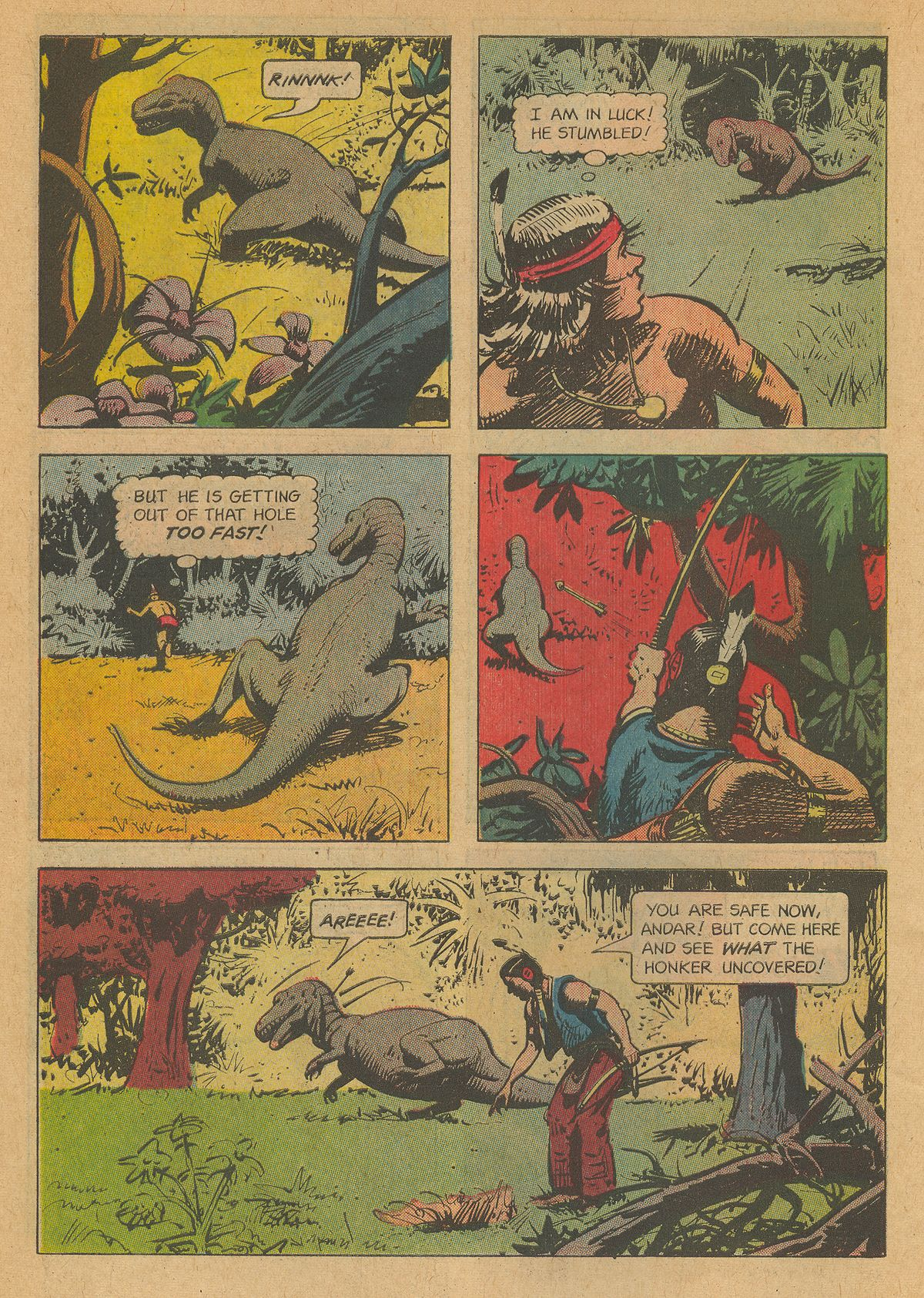 Read online Turok, Son of Stone comic -  Issue #34 - 6