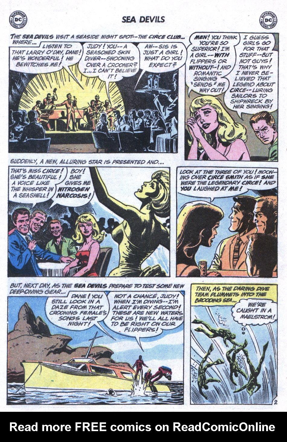 Read online Sea Devils comic -  Issue #3 - 21