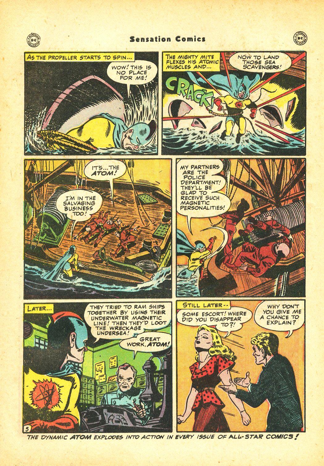 Read online Sensation (Mystery) Comics comic -  Issue #86 - 40