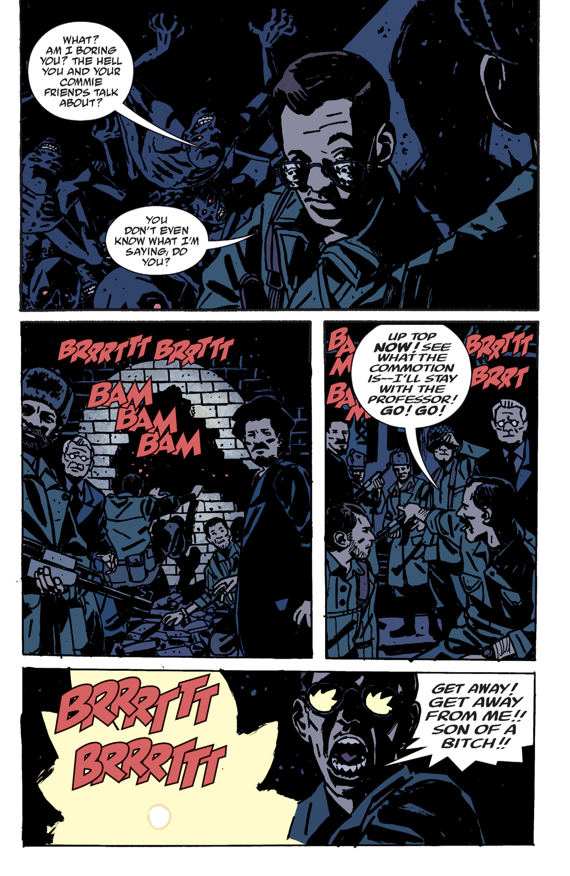Read online B.P.R.D. (2003) comic -  Issue # TPB 9 - 65