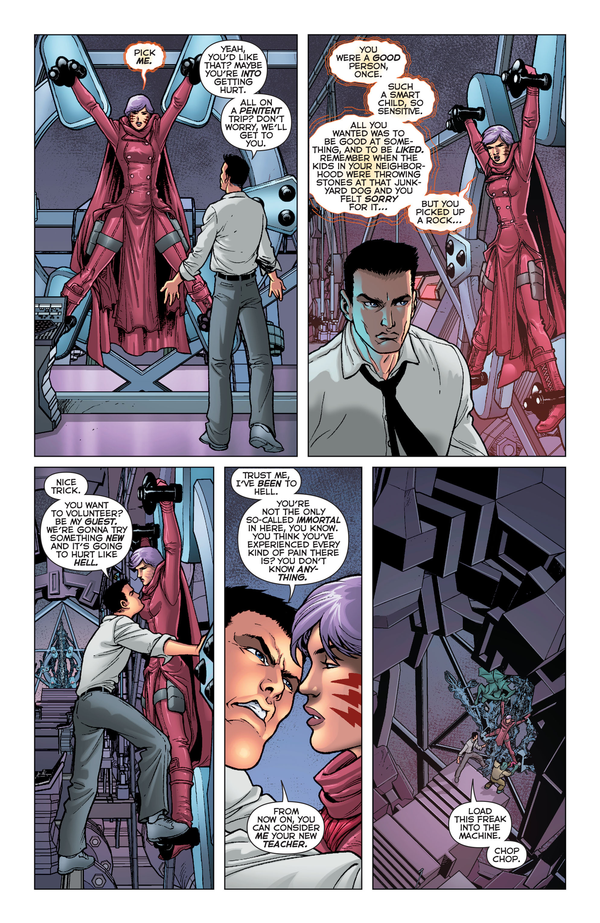 Read online Trinity of Sin: Pandora comic -  Issue #8 - 15