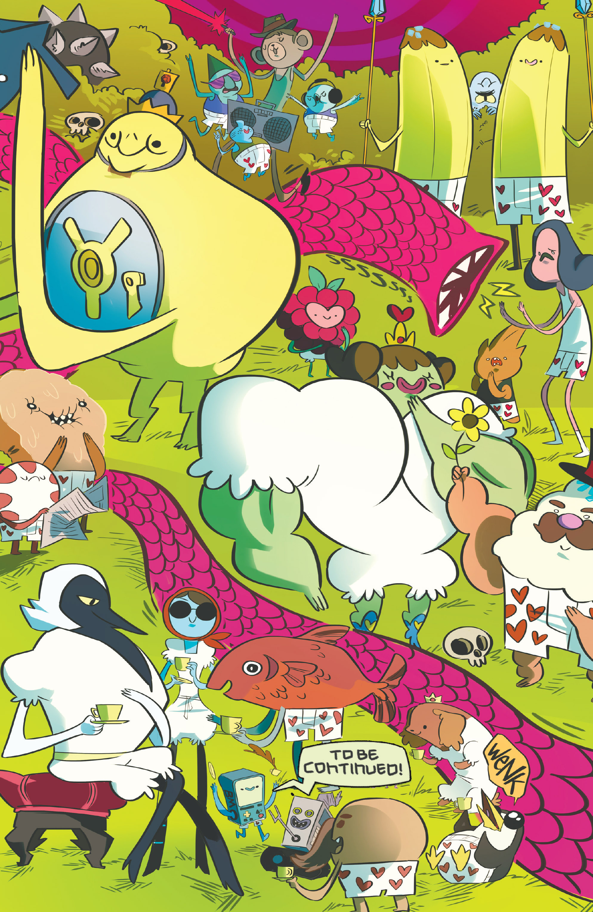 Read online Adventure Time: Candy Capers comic -  Issue #5 - 27