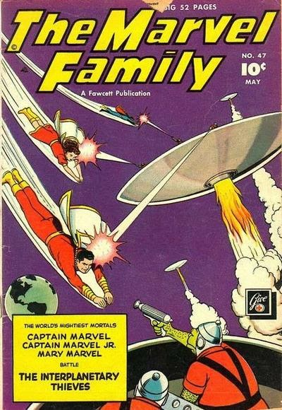 The Marvel Family issue 47 - Page 1