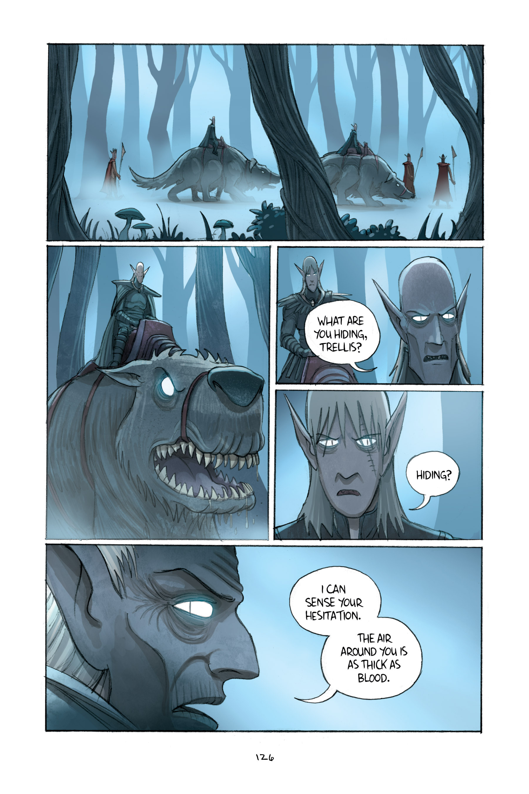 Read online Amulet comic -  Issue #2 - 126
