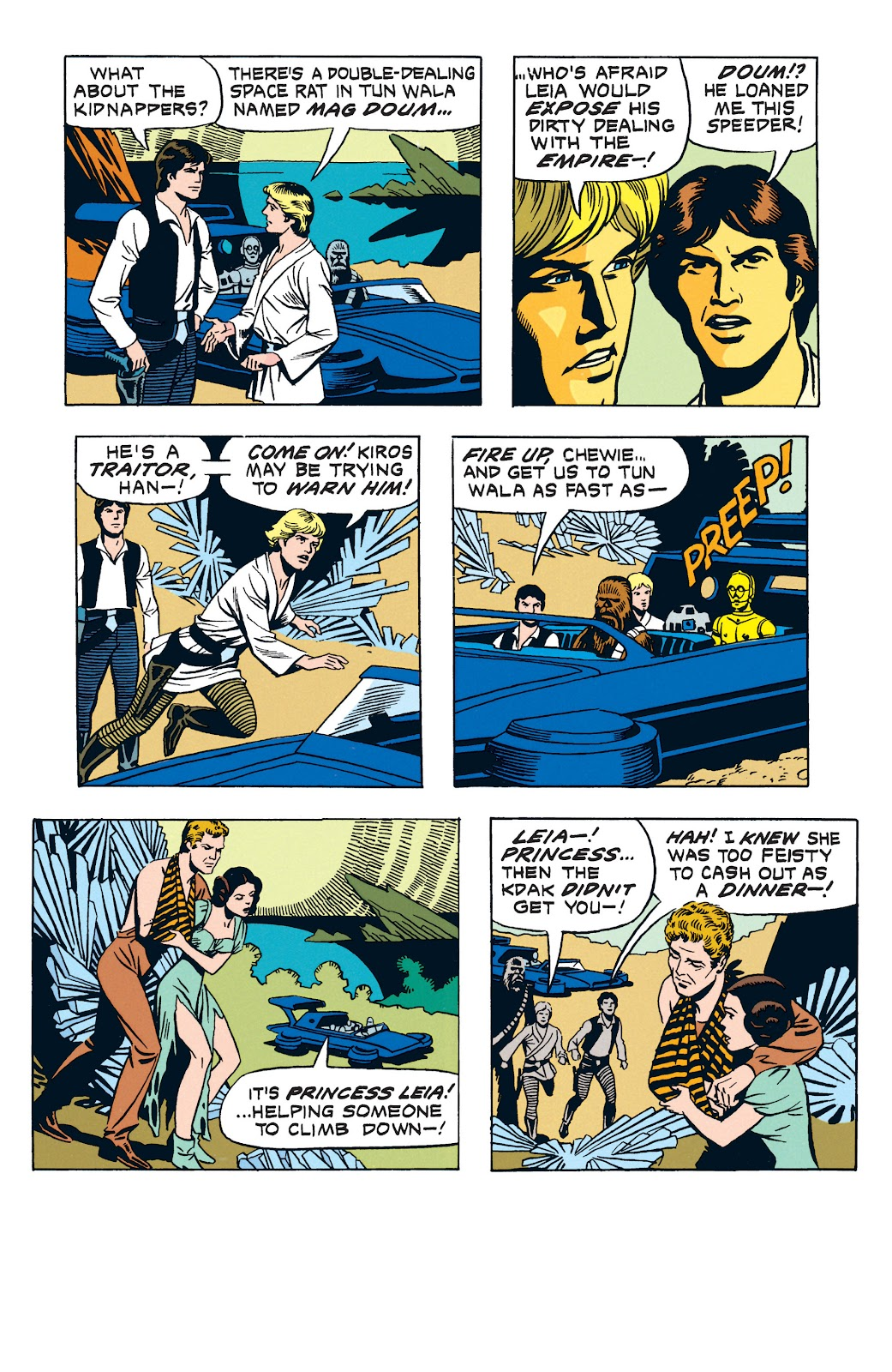 Read online Star Wars Legends: The Newspaper Strips - Epic Collection comic -  Issue # TPB (Part 3) - 42