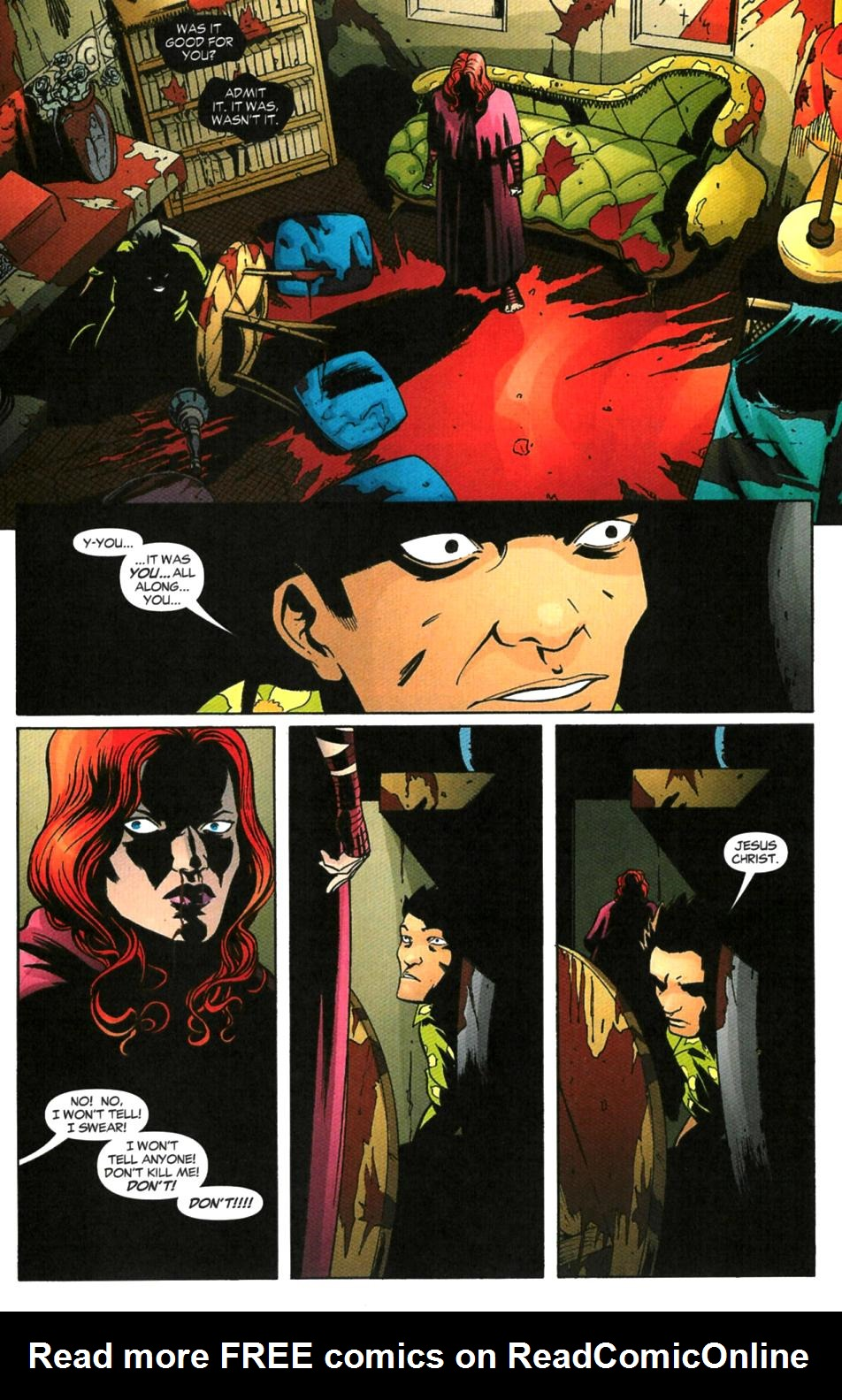 Read online Fallen Angel (2003) comic -  Issue #6 - 6