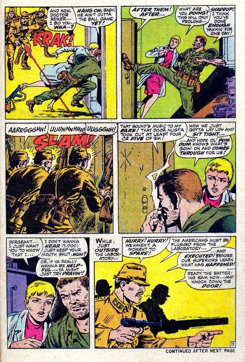 Read online Sgt. Fury comic -  Issue #64 - 21