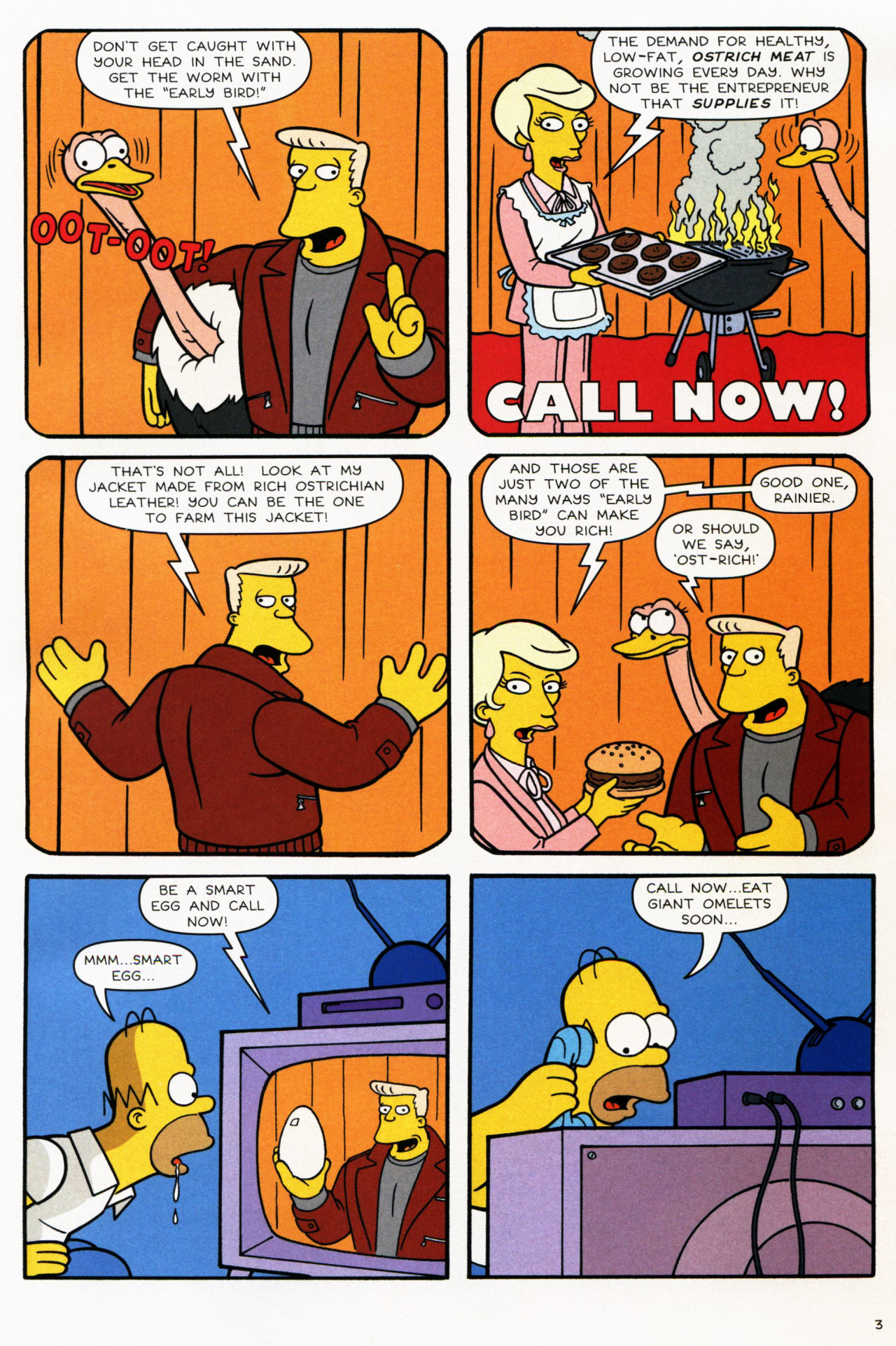 Read online Simpsons Comics comic -  Issue #139 - 4