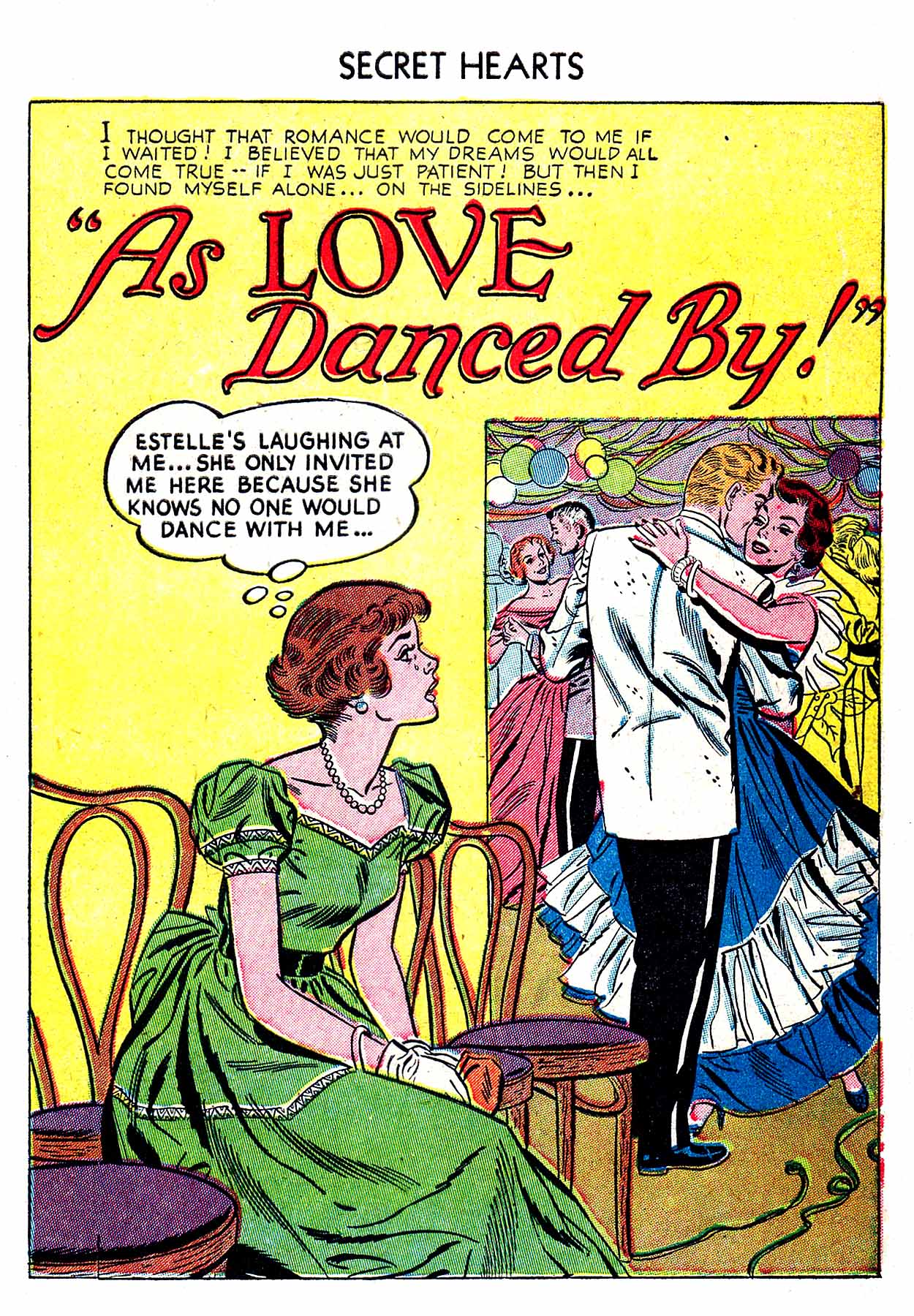 Read online Secret Hearts comic -  Issue #19 - 27