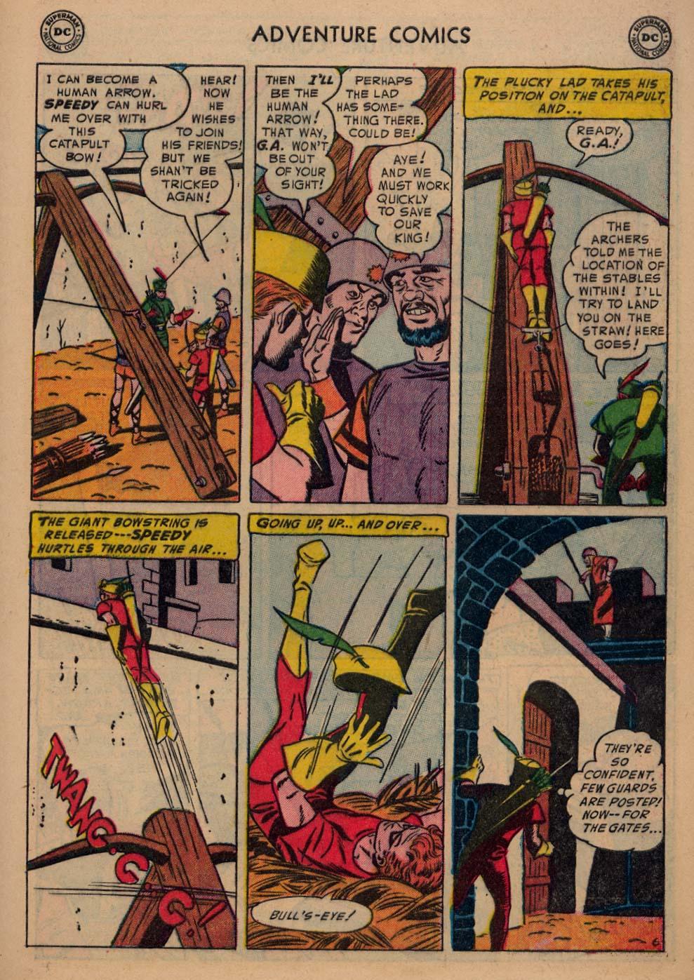 Read online Adventure Comics (1938) comic -  Issue #198 - 39