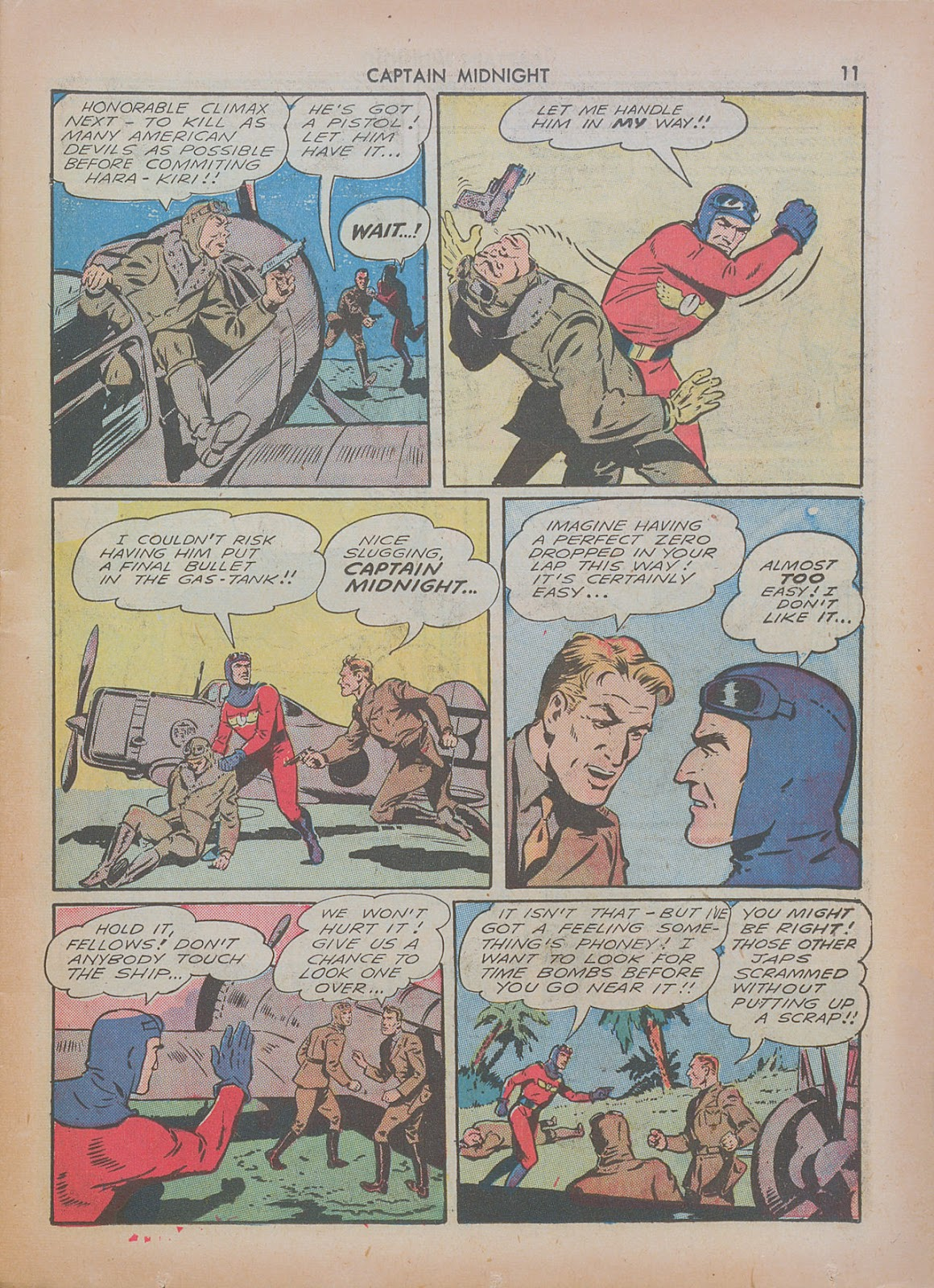 Captain Midnight (1942) issue 7 - Page 11