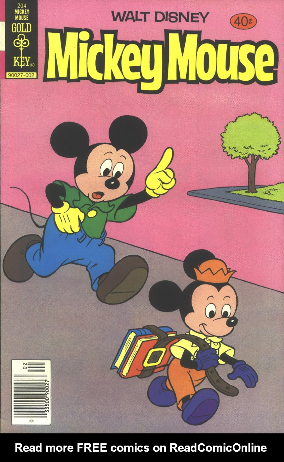 Walt Disney's Mickey Mouse issue 204 - Page 1