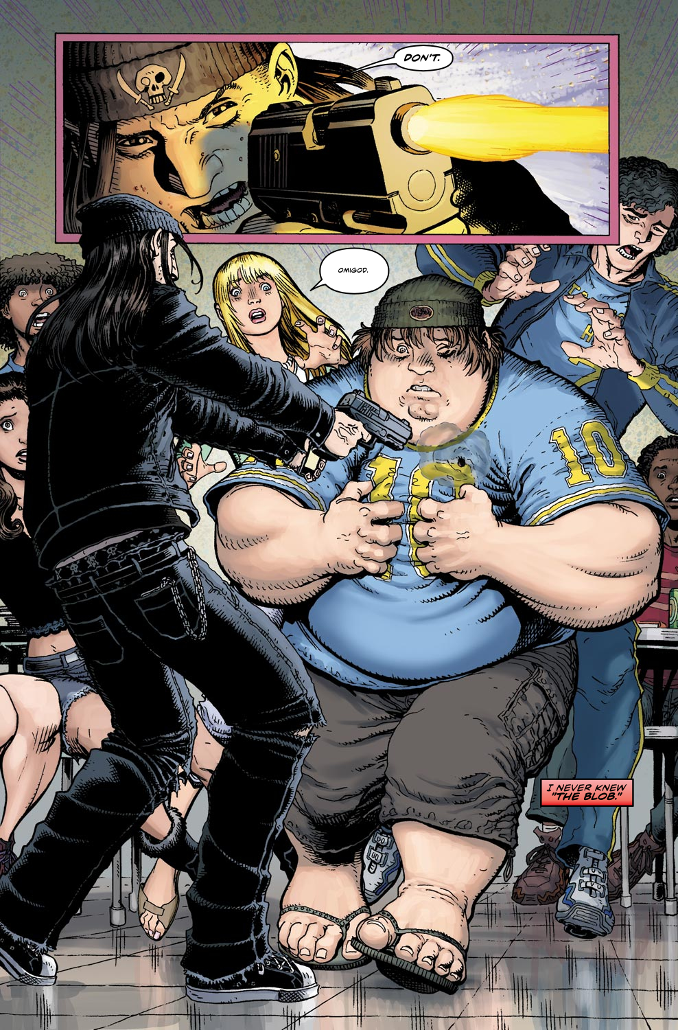 Read online Ultimate X comic -  Issue #4 - 15