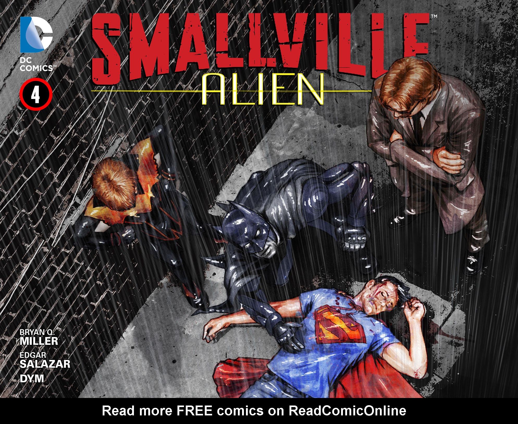 Read online Smallville: Alien comic -  Issue #4 - 1