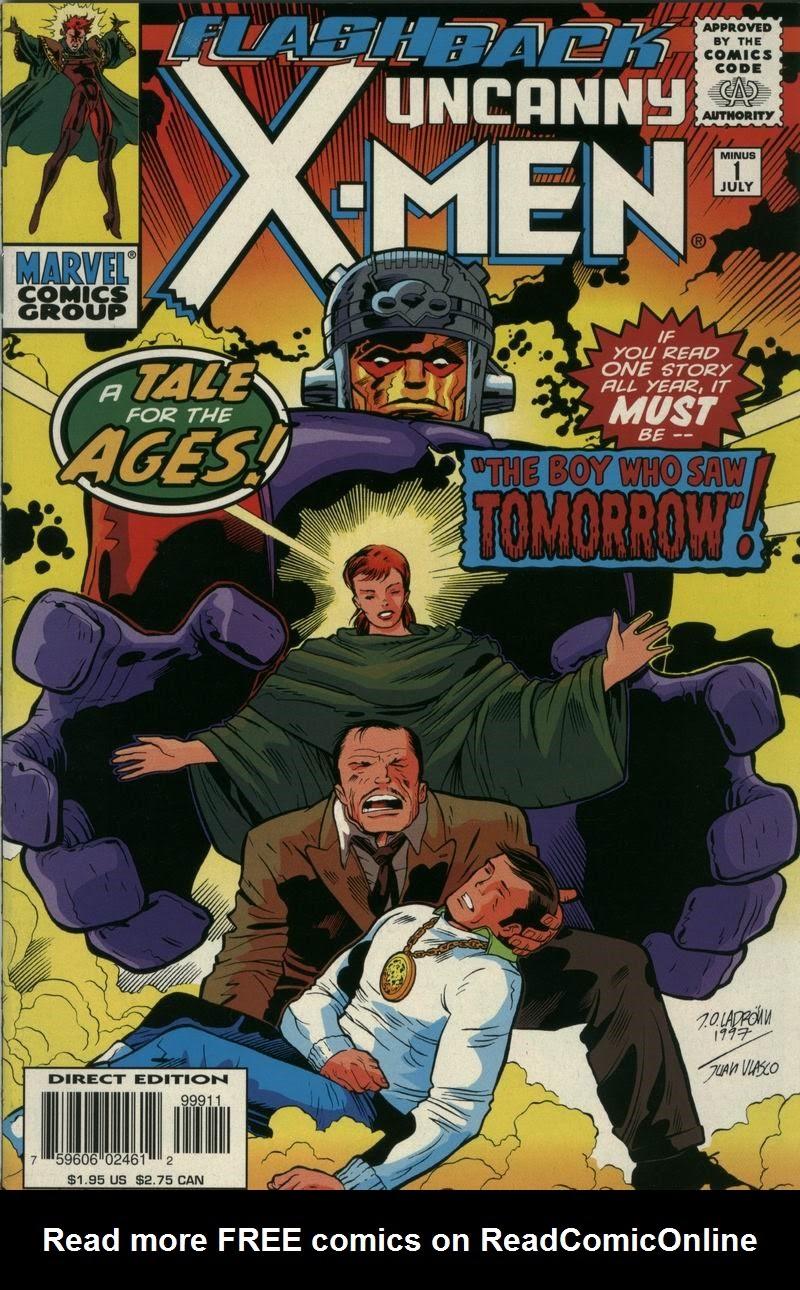 Uncanny X-Men (1963) -1 Page 1