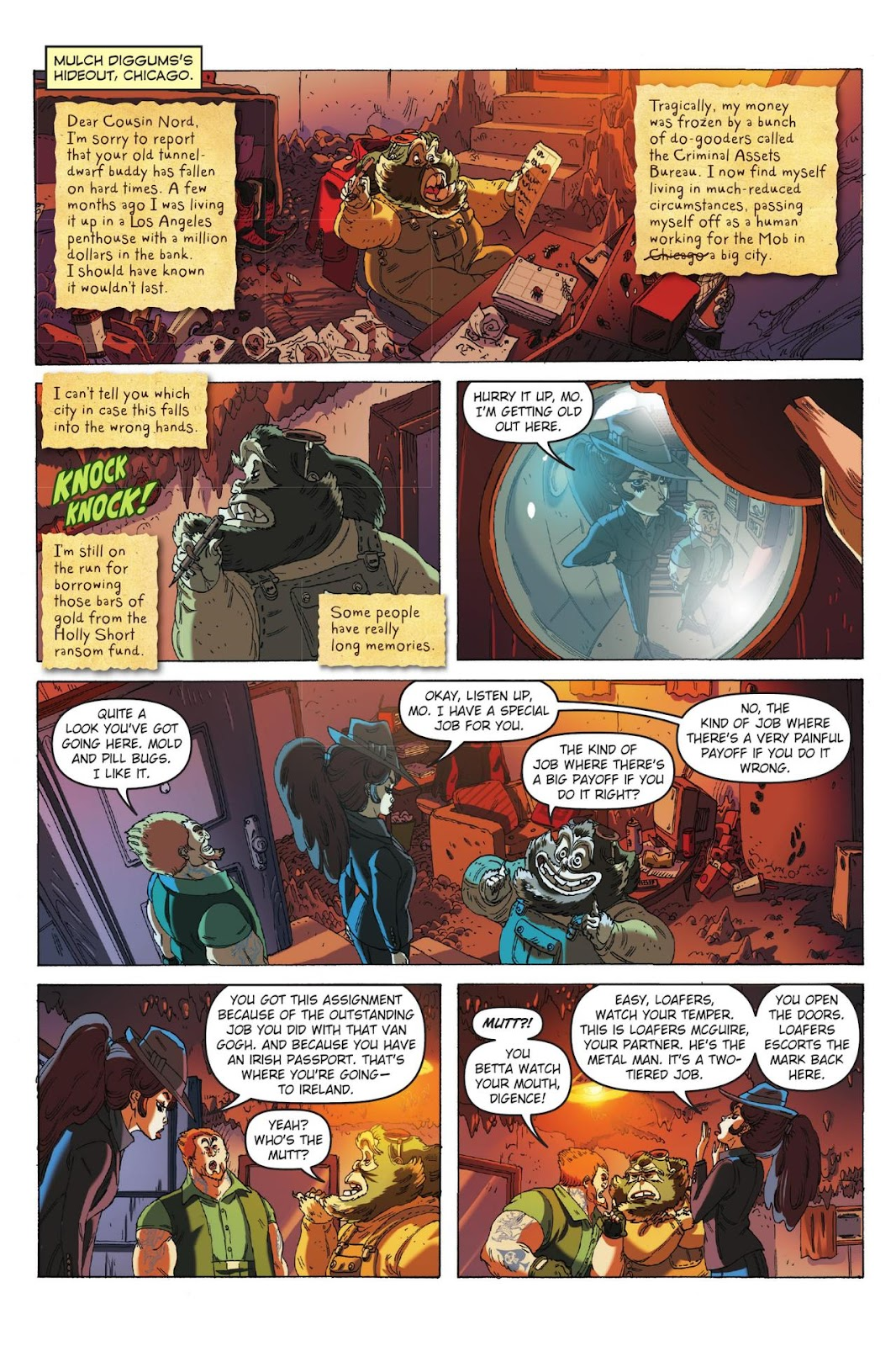 Artemis Fowl: The Eternity Code issue TPB - Page 54