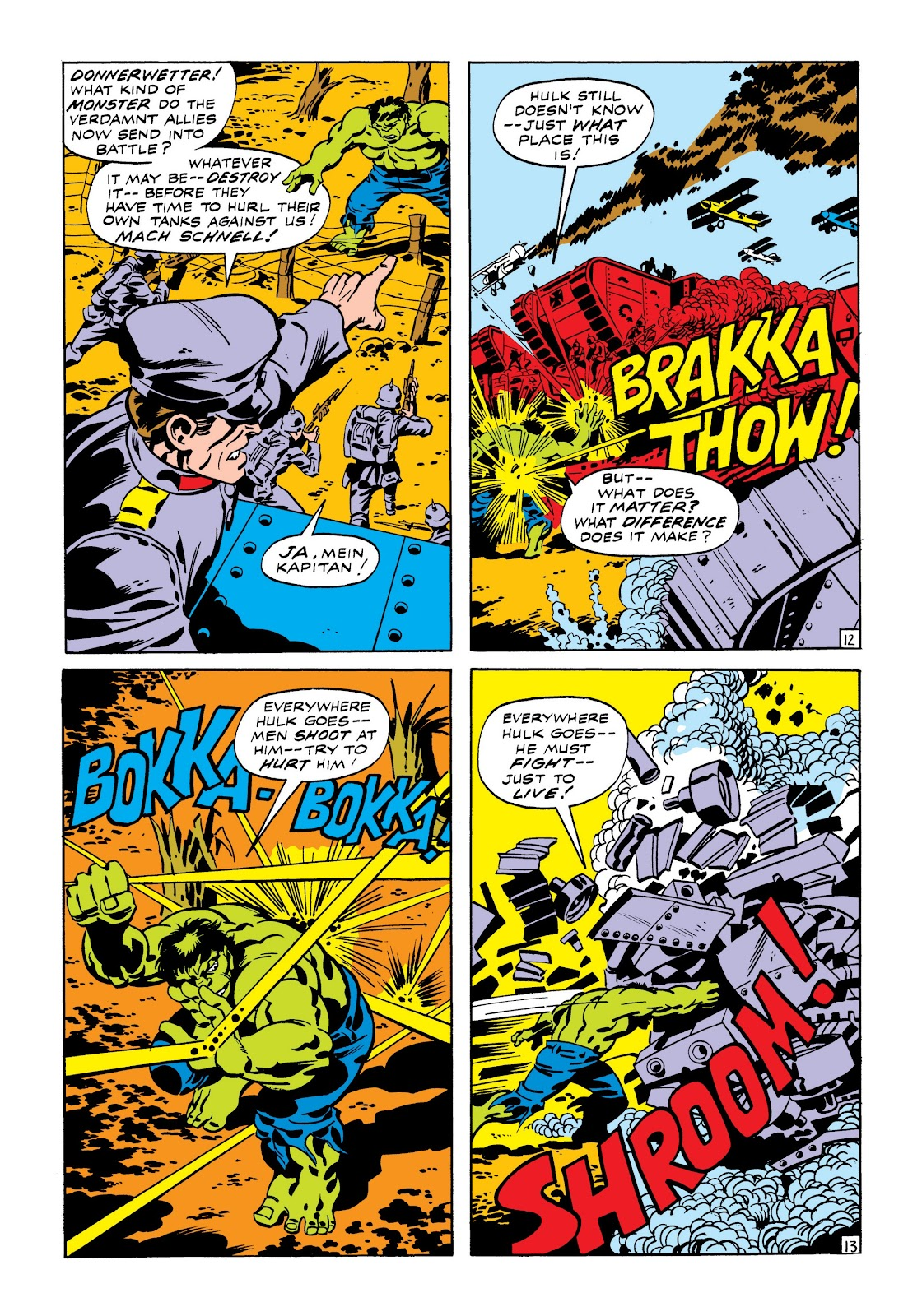 Read online Marvel Masterworks: The Incredible Hulk comic -  Issue # TPB 7 (Part 1) - 19