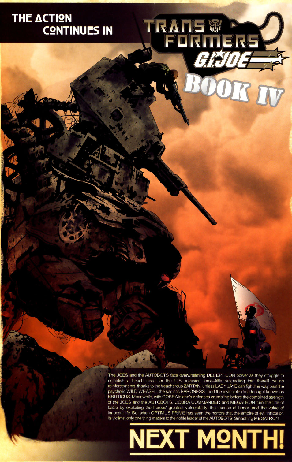 Read online Transformers/G.I. Joe comic -  Issue #3 - 21