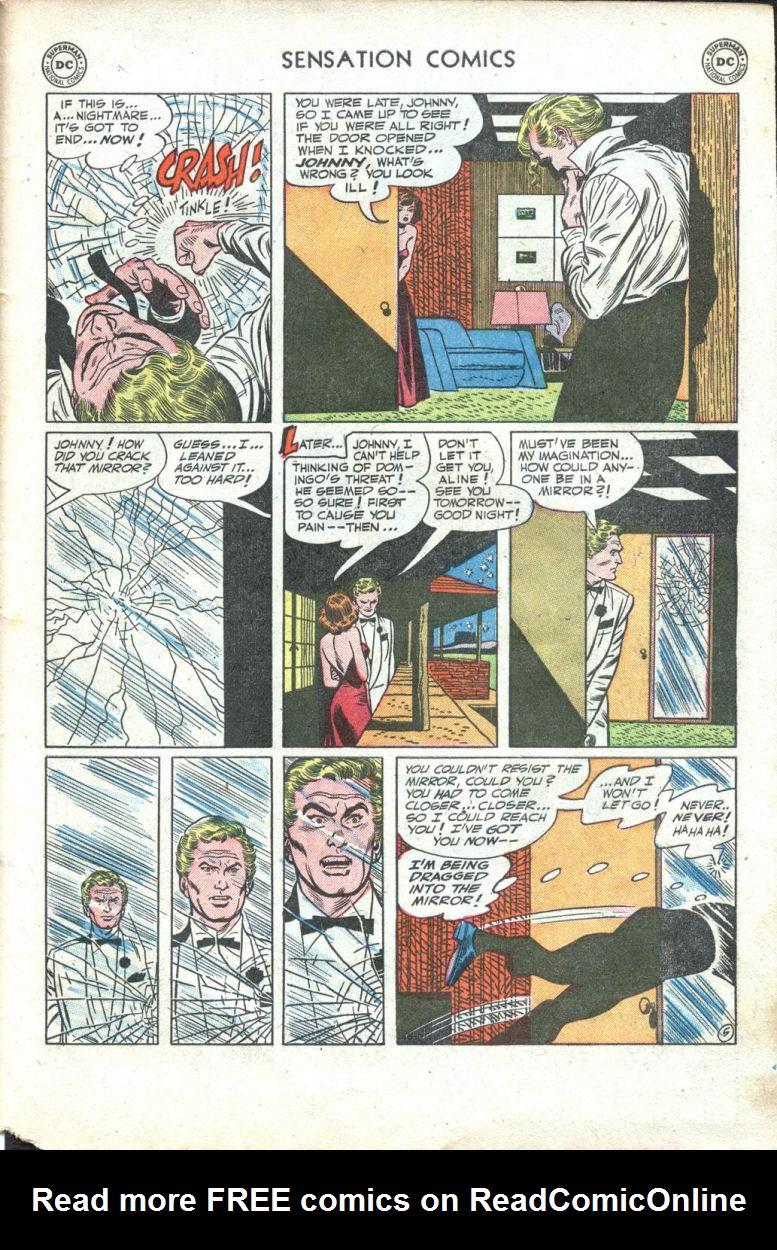 Read online Sensation (Mystery) Comics comic -  Issue #109 - 31