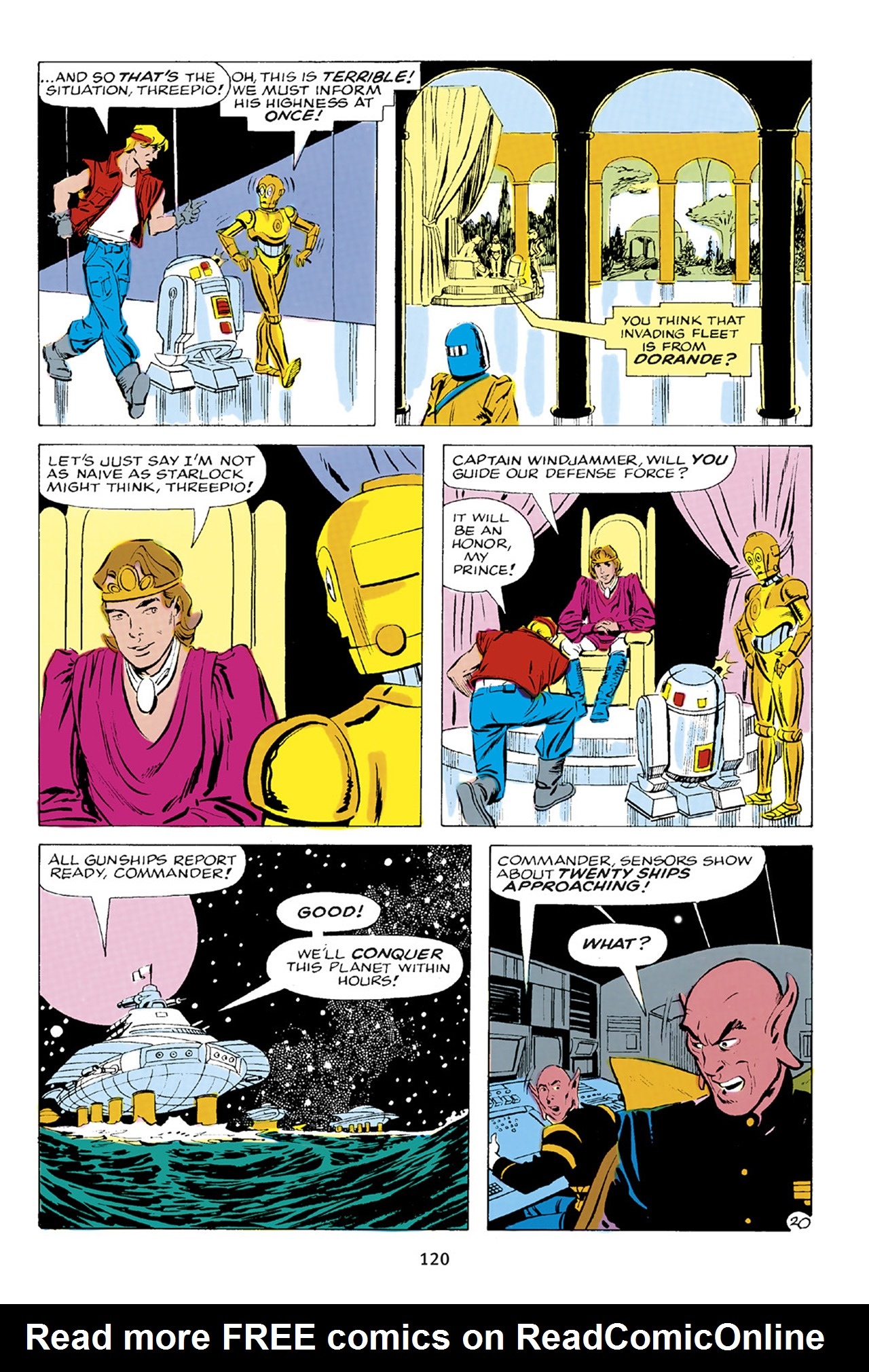 Read online Star Wars Omnibus comic -  Issue # Vol. 23 - 119