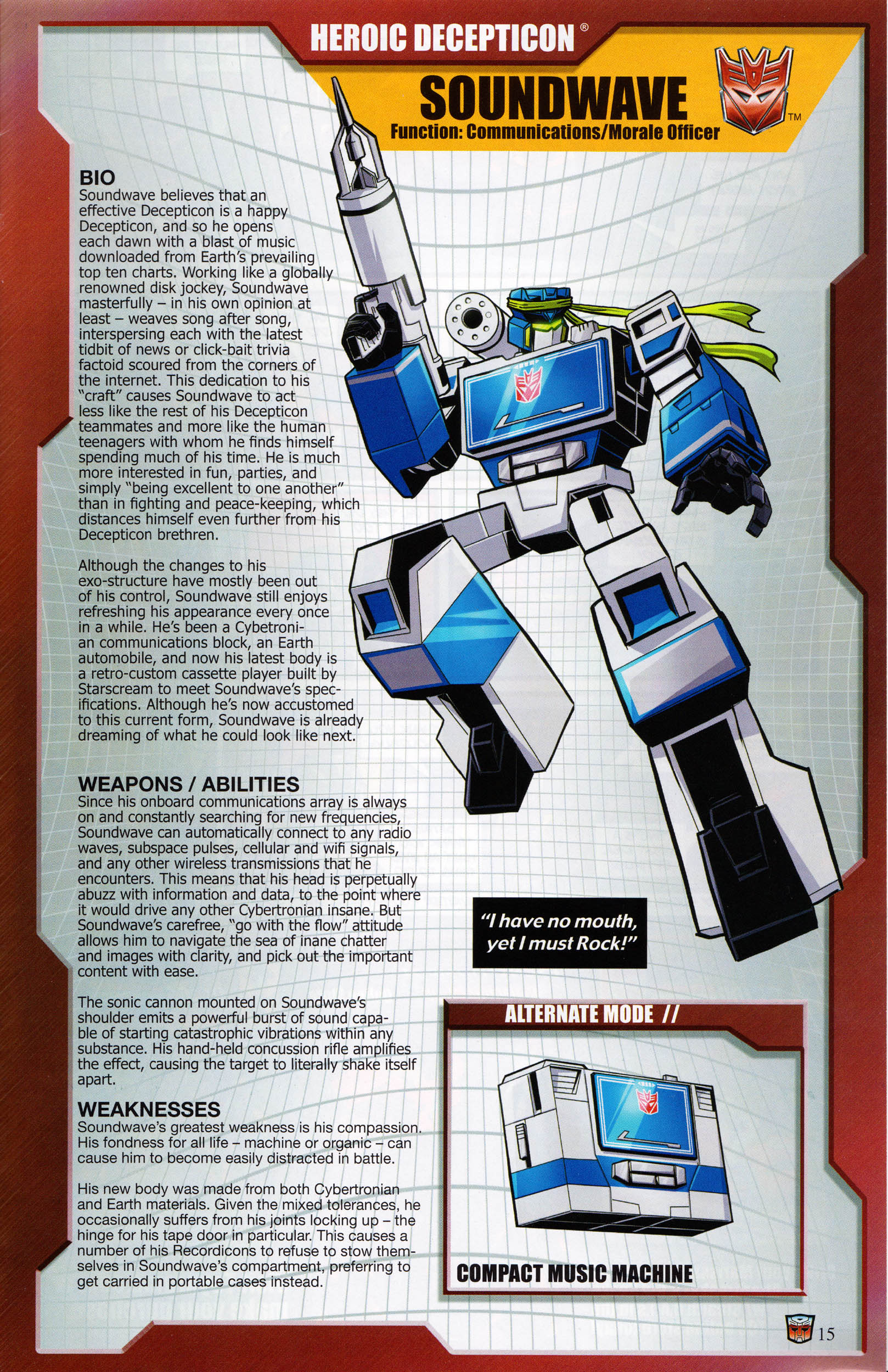 Read online Transformers: Collectors' Club comic -  Issue #65 - 15