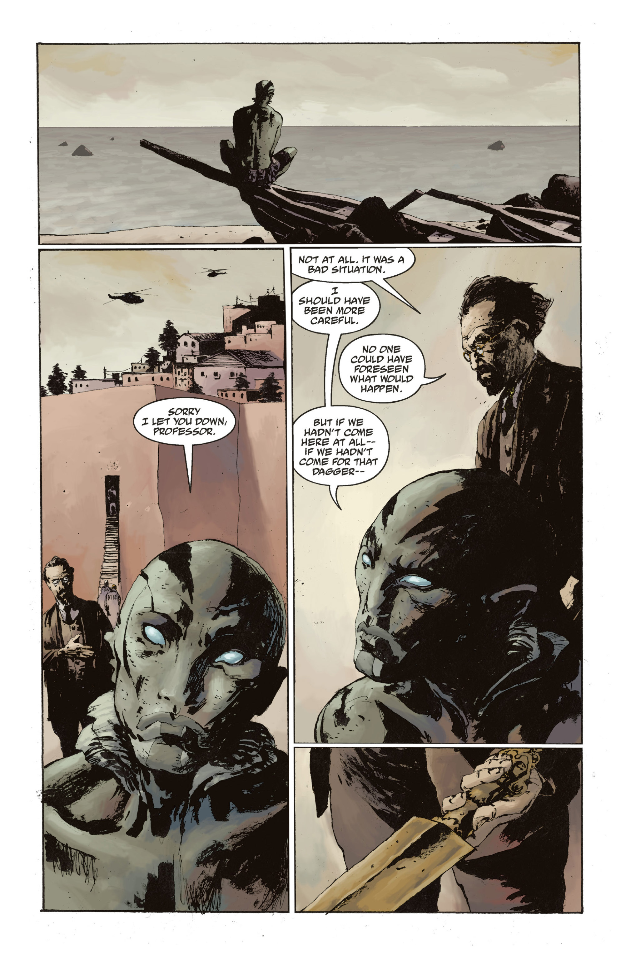 Read online Abe Sapien: The Drowning comic -  Issue #Abe Sapien: The Drowning _TPB - 133