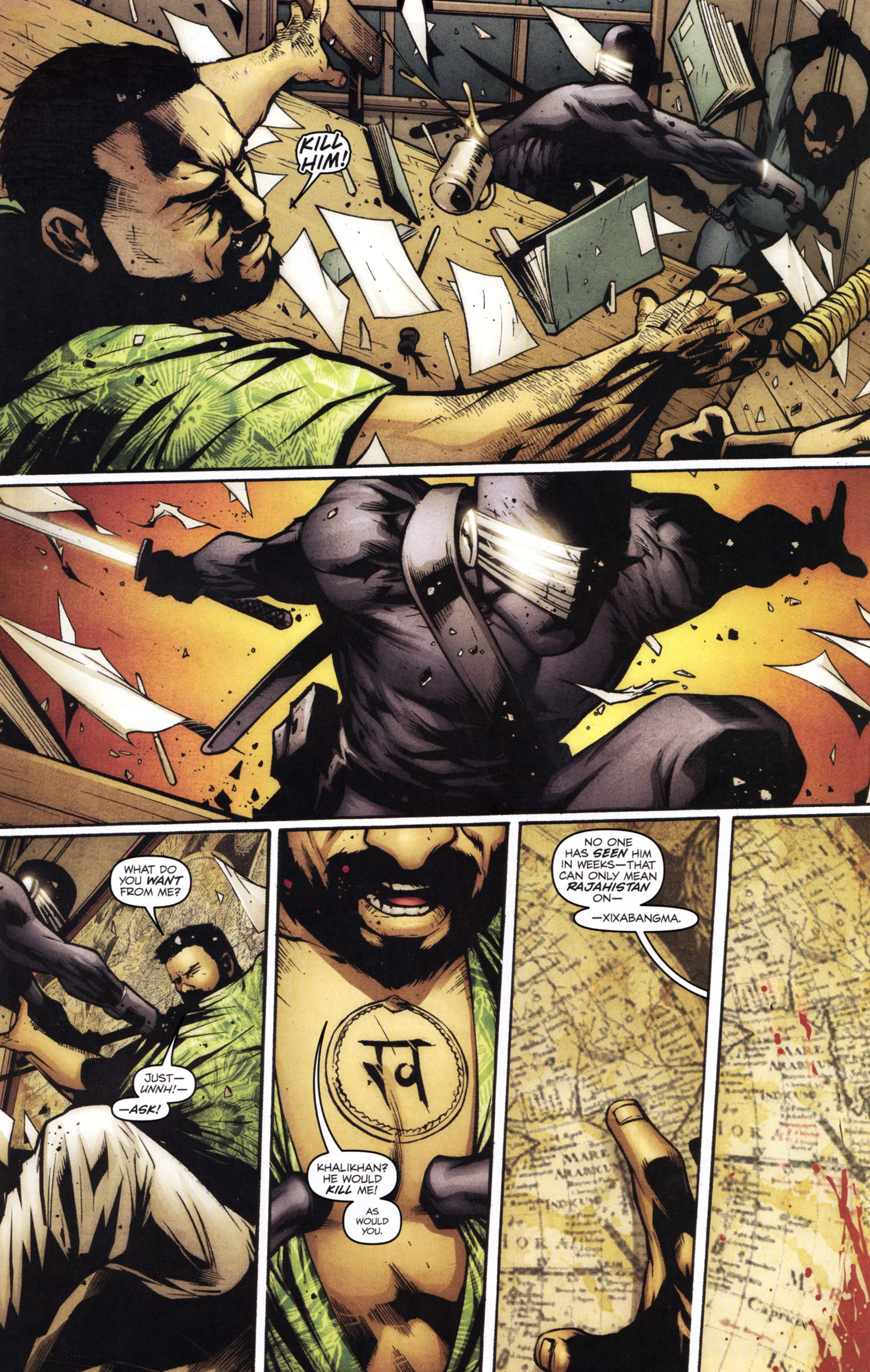 Read online G.I. Joe: Snake Eyes comic -  Issue #1 - 14