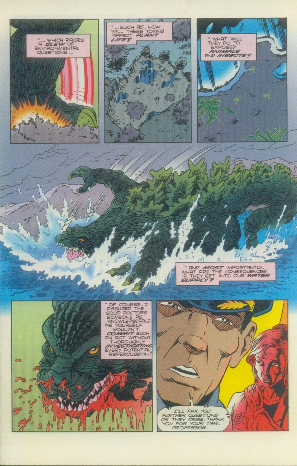Godzilla (1995) Issue #2 #3 - English 12