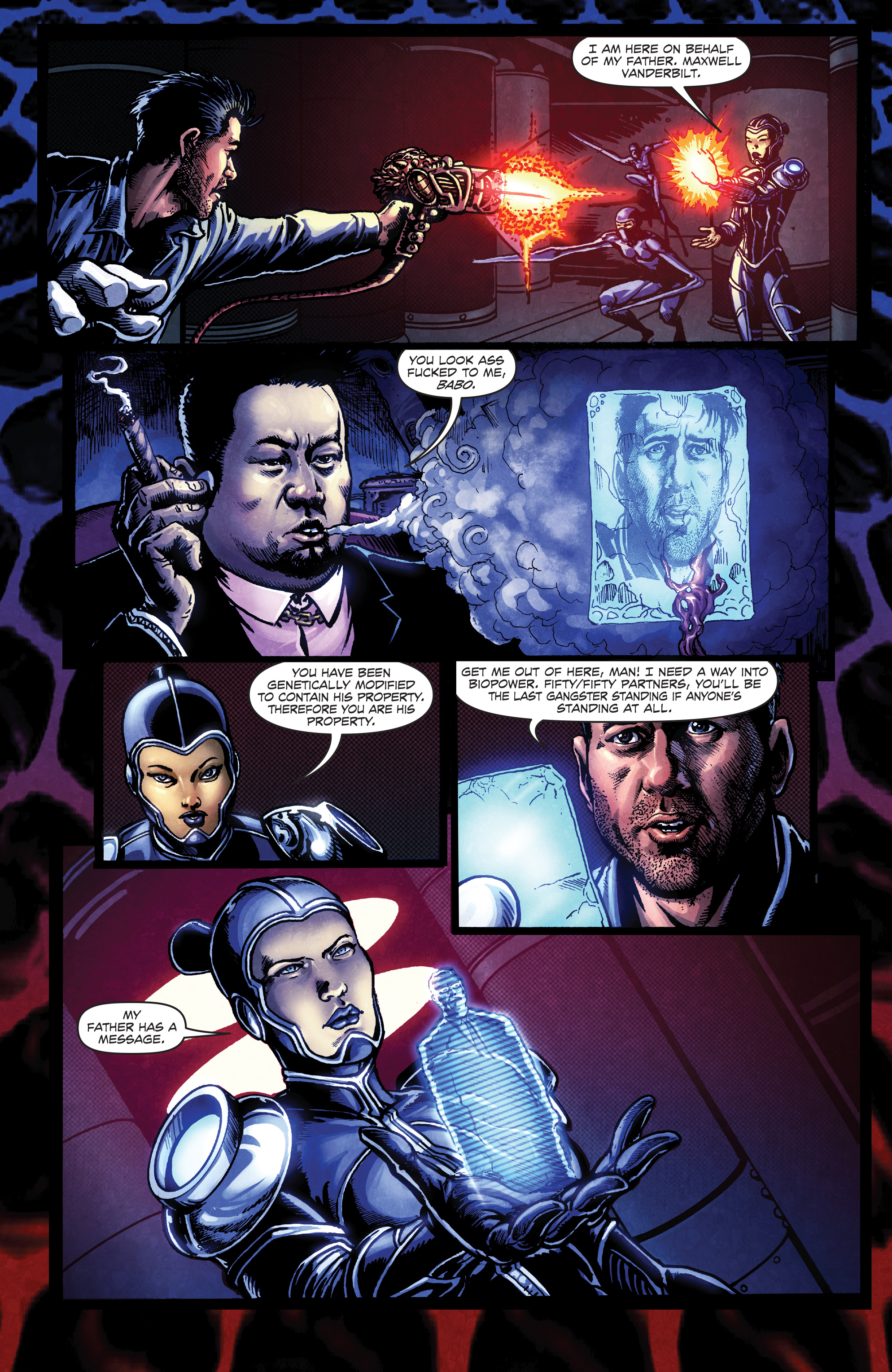 Read online Ballistic (2013) comic -  Issue #4 - 23