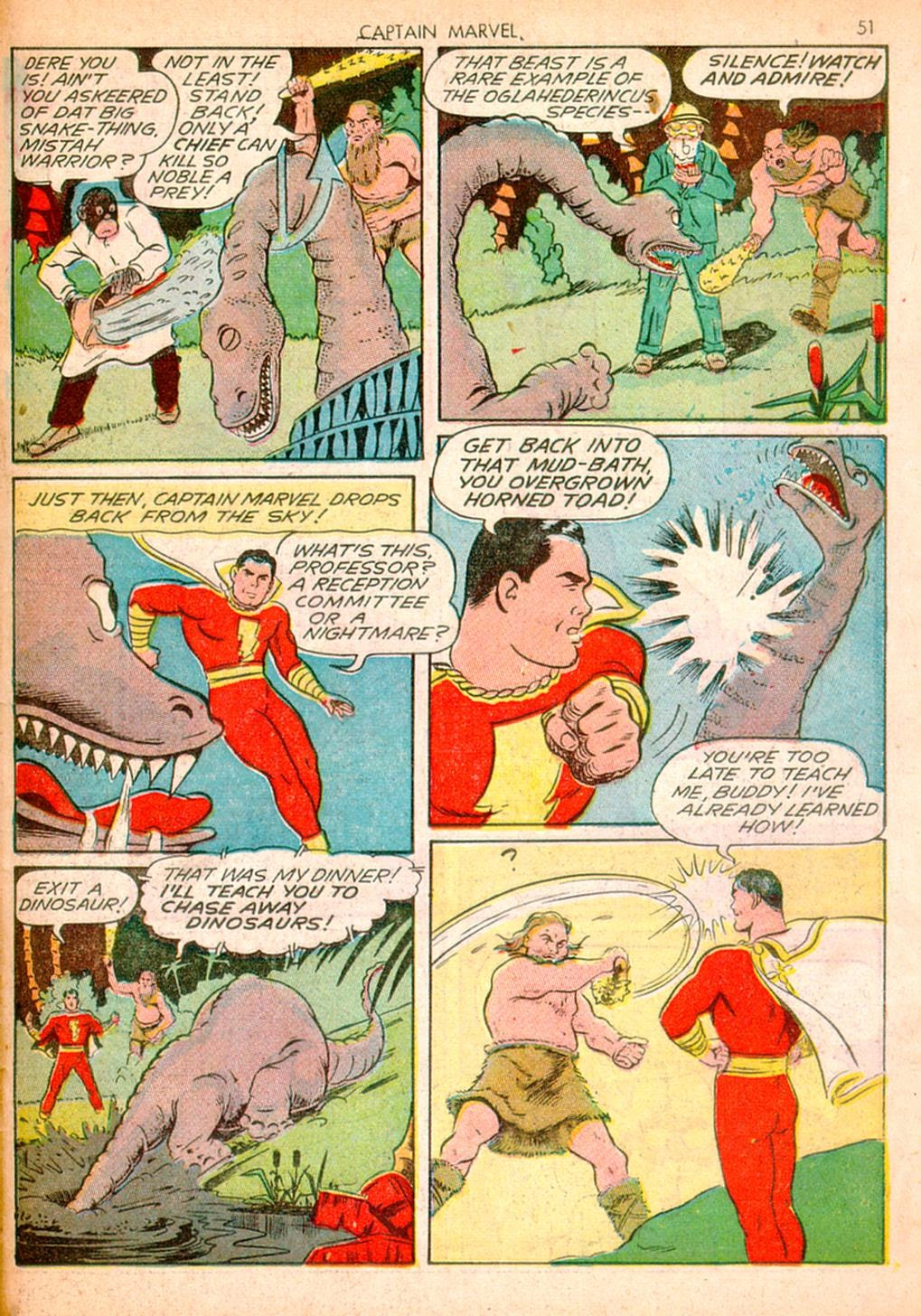 Captain Marvel Adventures issue 10 - Page 51