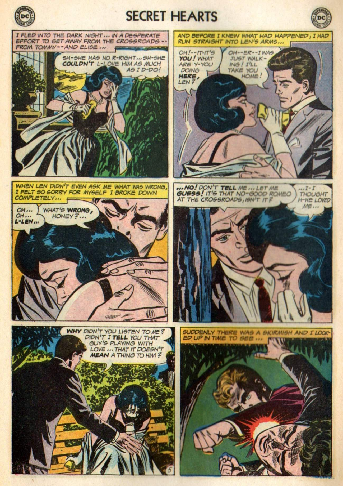 Read online Secret Hearts comic -  Issue #98 - 15