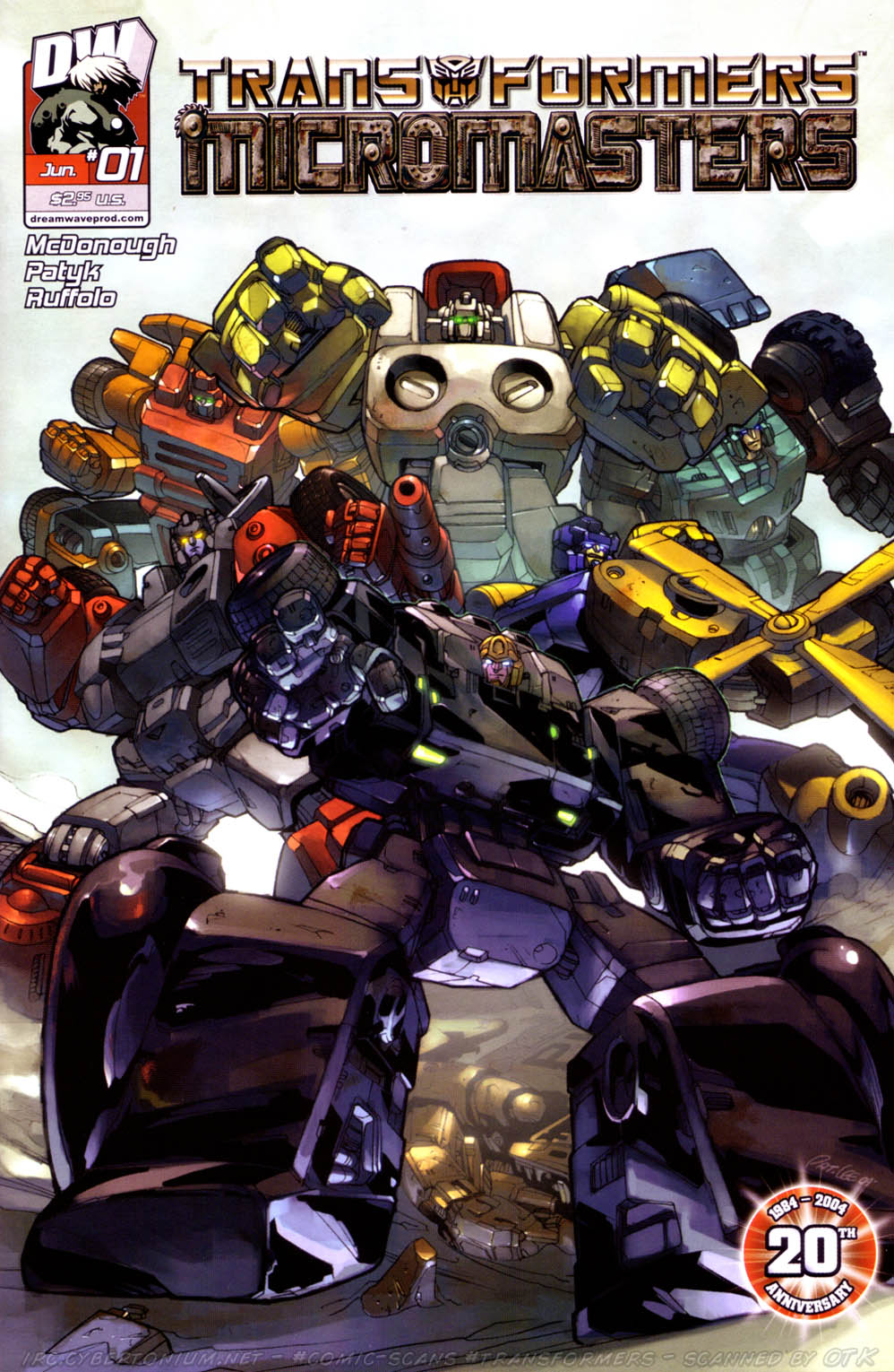 Read online Transformers: Micromasters comic -  Issue #1 - 3
