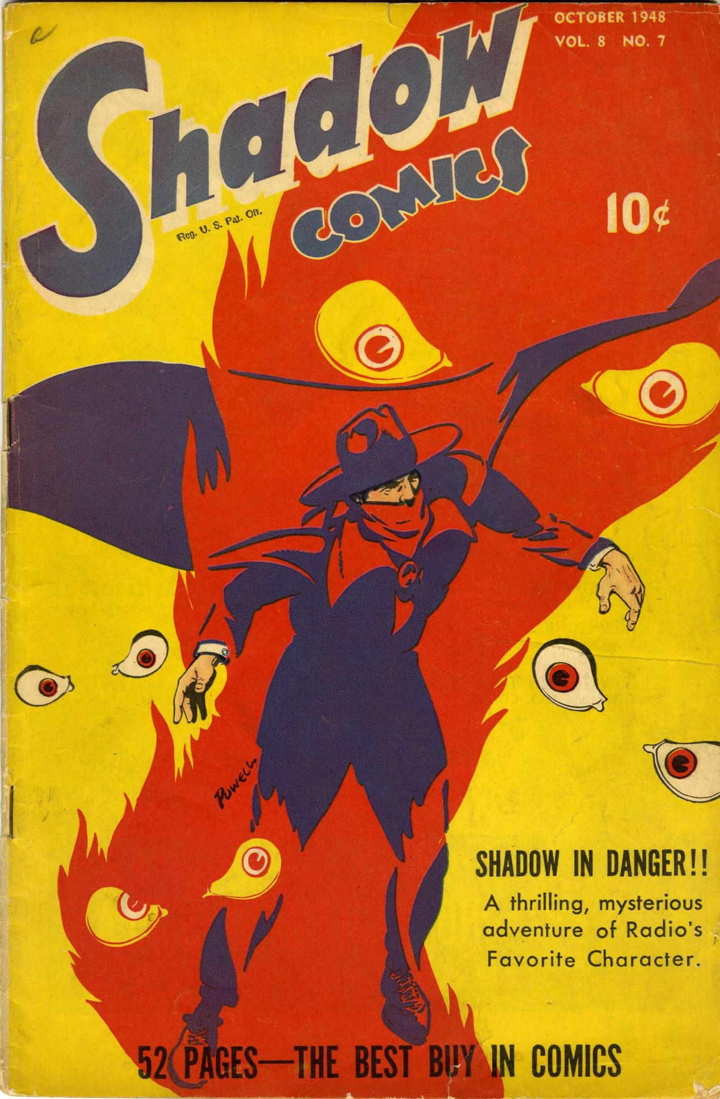 Read online Shadow Comics comic -  Issue #91 - 1