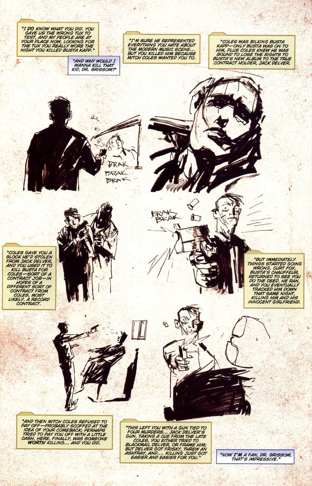 Read online CSI: Crime Scene Investigation: Bad Rap comic -  Issue #5 - 26