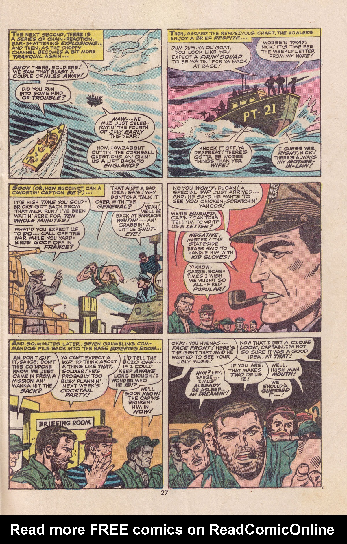 Read online Sgt. Fury comic -  Issue #113 - 29