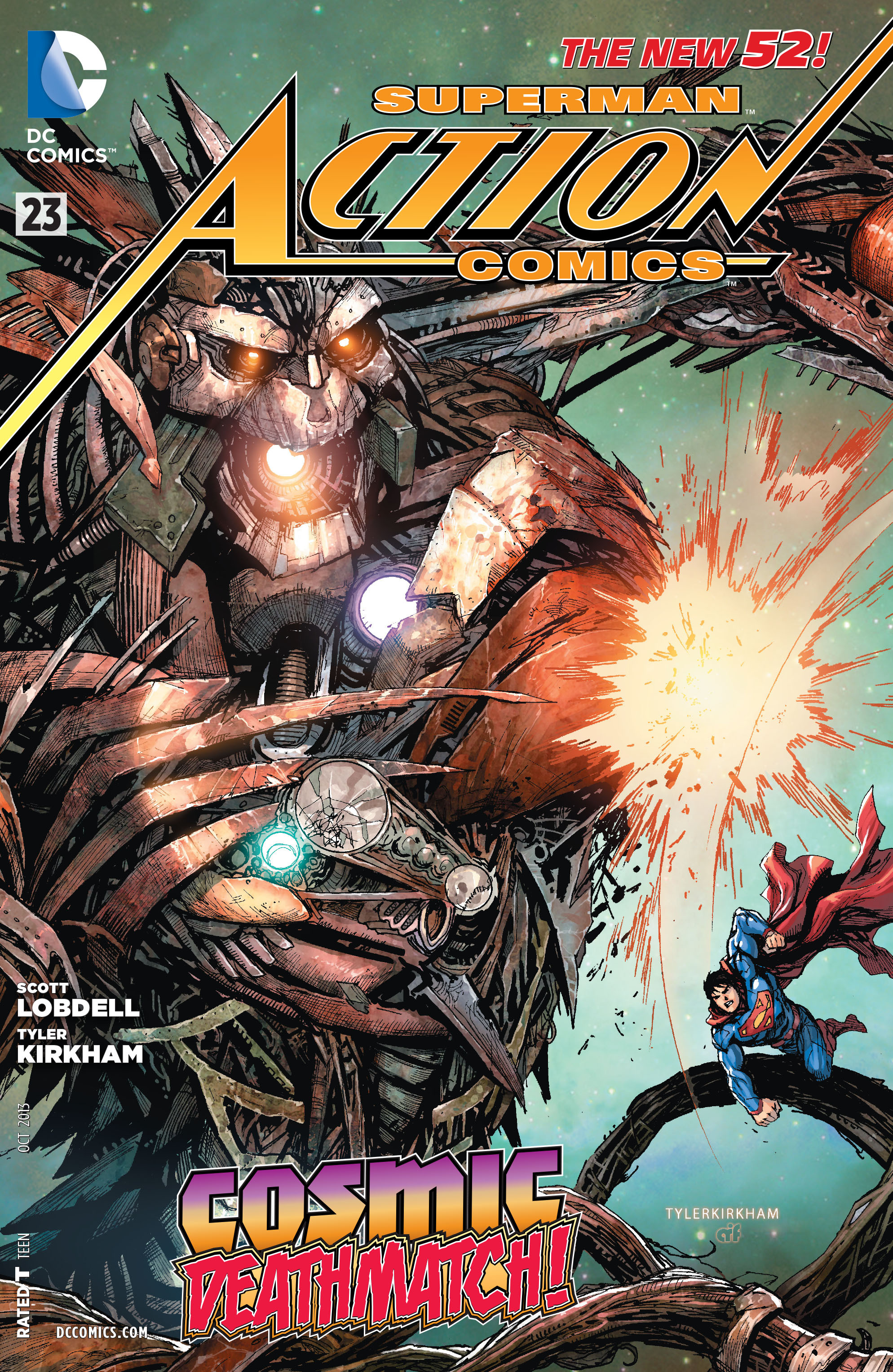 Read online Action Comics (2011) comic -  Issue #23 - 2