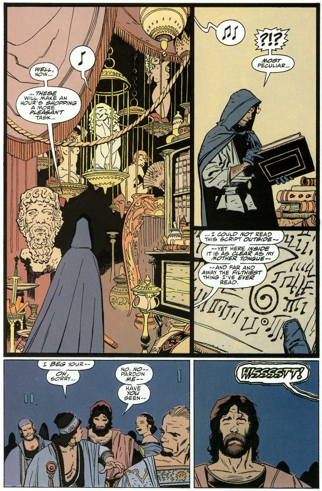 Read online Fafhrd and the Gray Mouser comic -  Issue #3 - 30