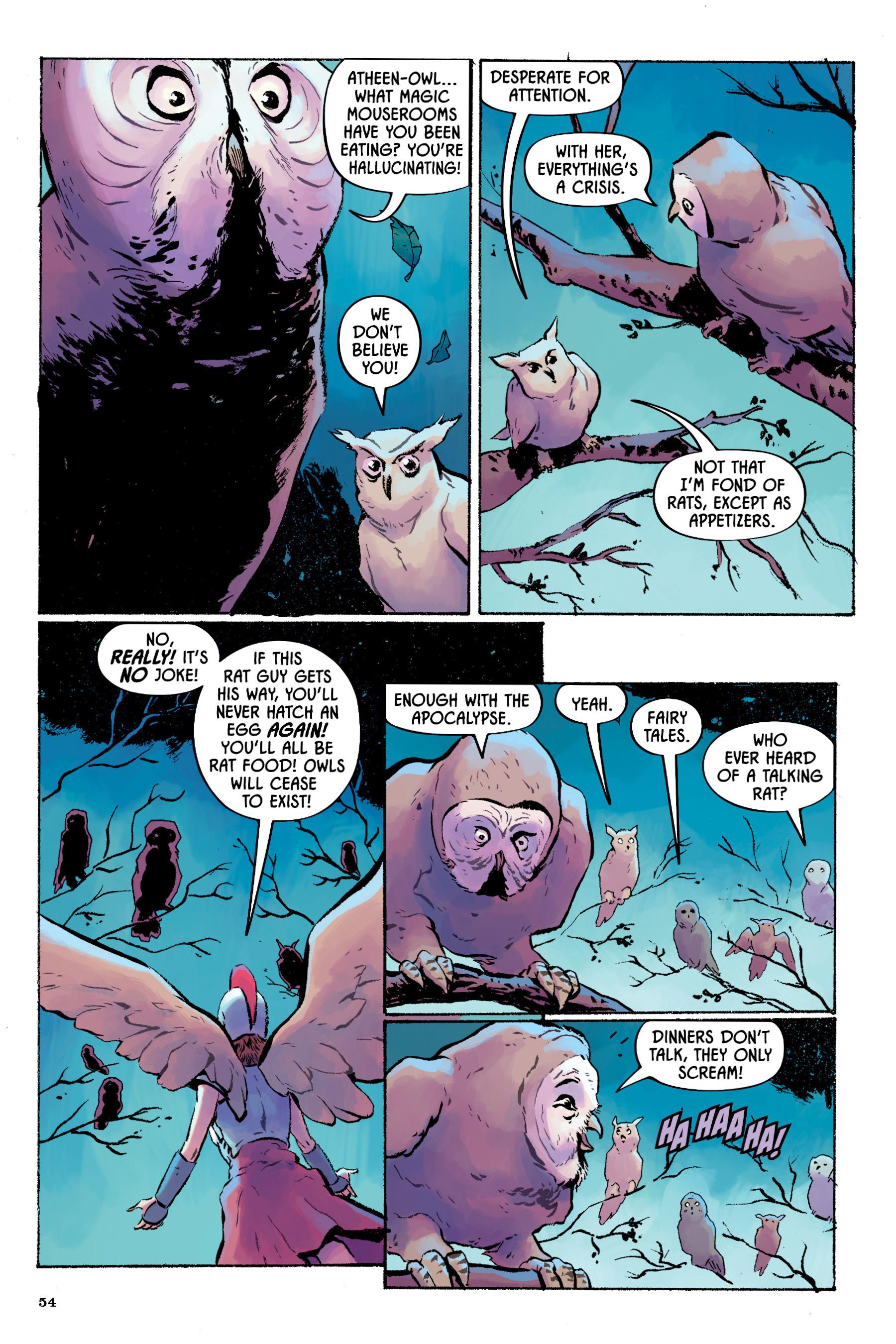 Read online Angel Catbird comic -  Issue # TPB 2 - 55