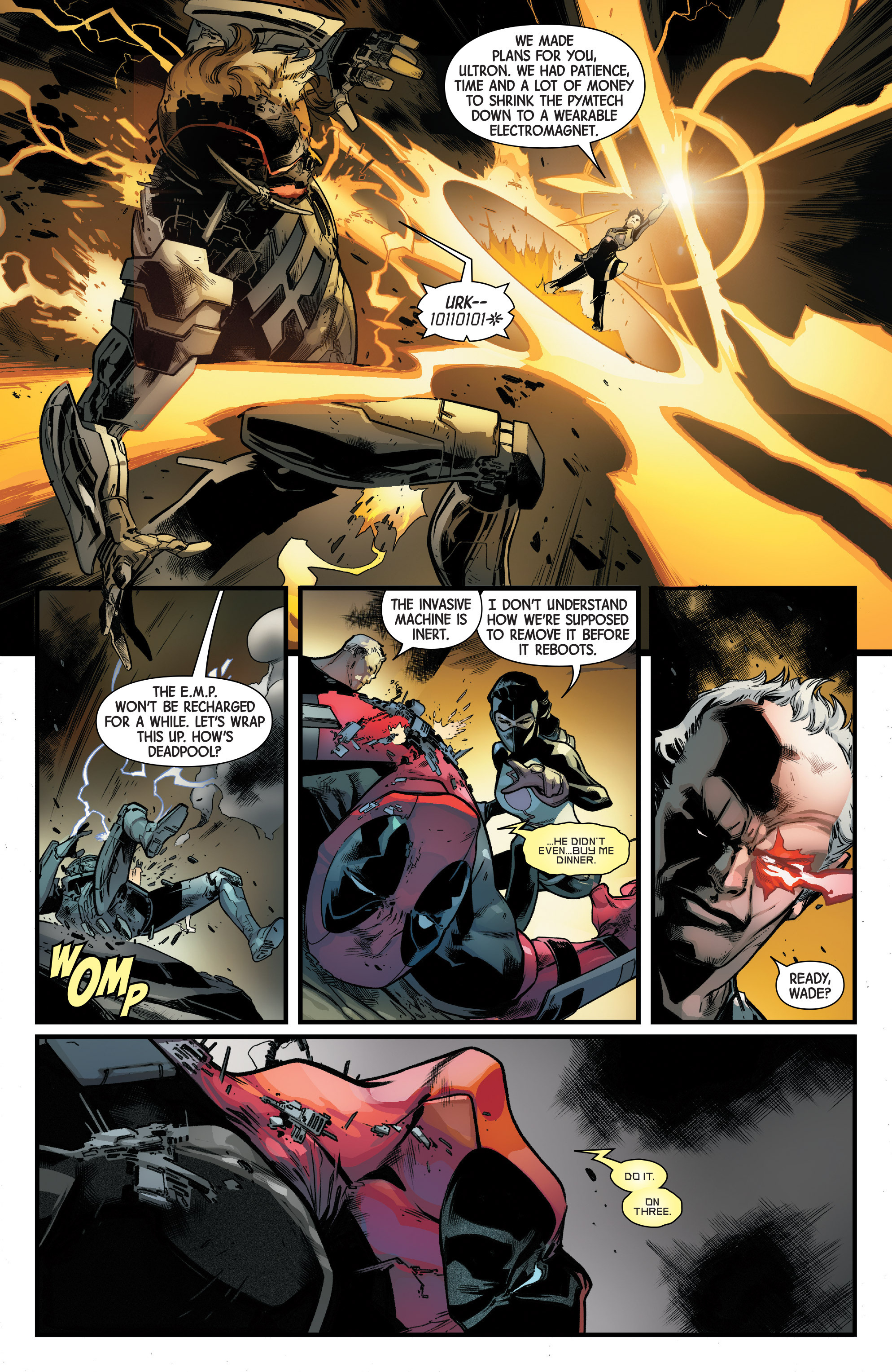 Read online Uncanny Avengers [II] comic -  Issue #11 - 16