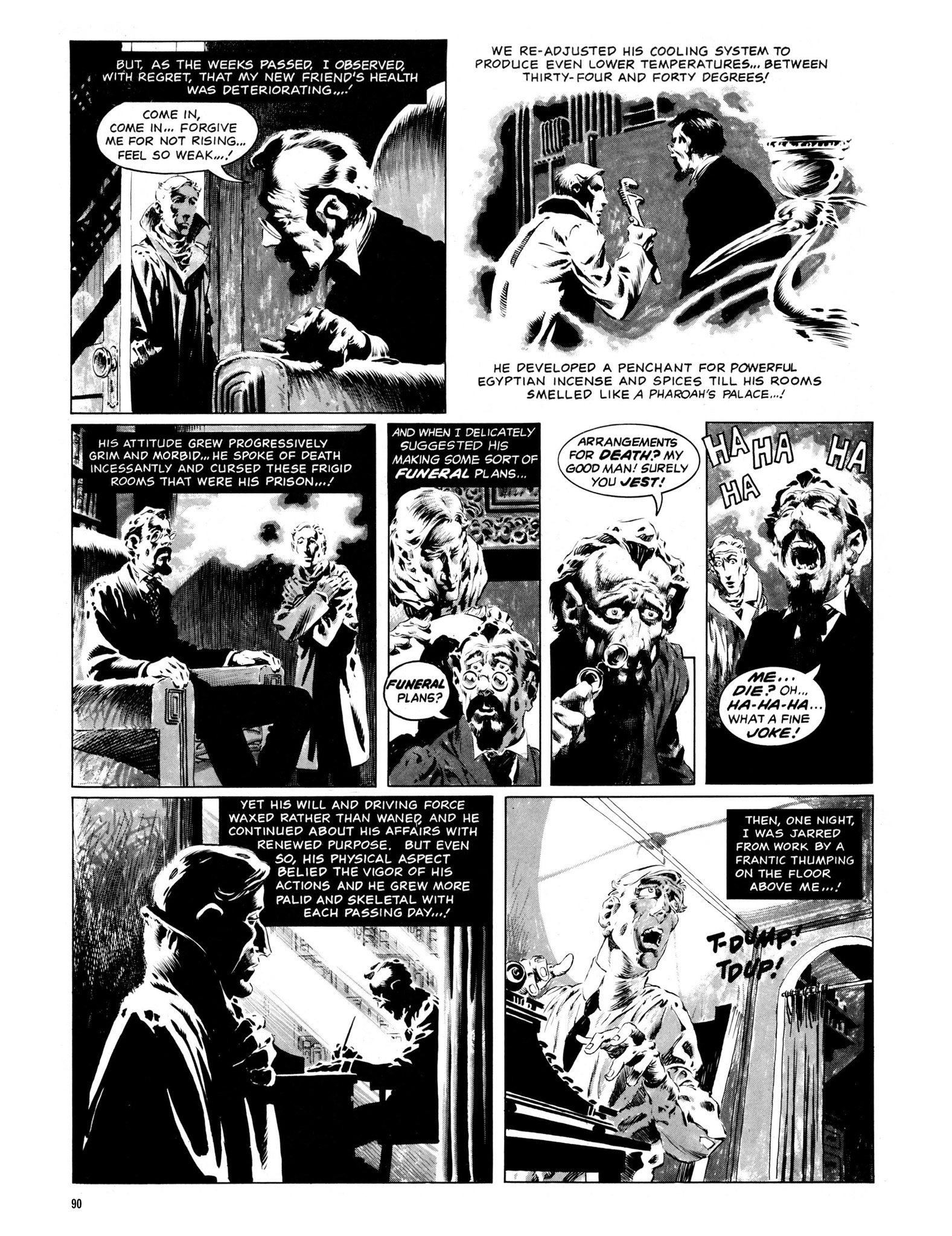 Read online Eerie Archives comic -  Issue # TPB 13 - 91