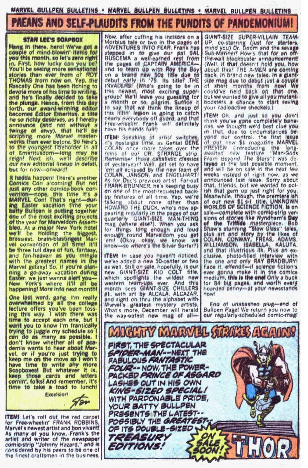 Giant-Size Fantastic Four issue 4 - Page 14