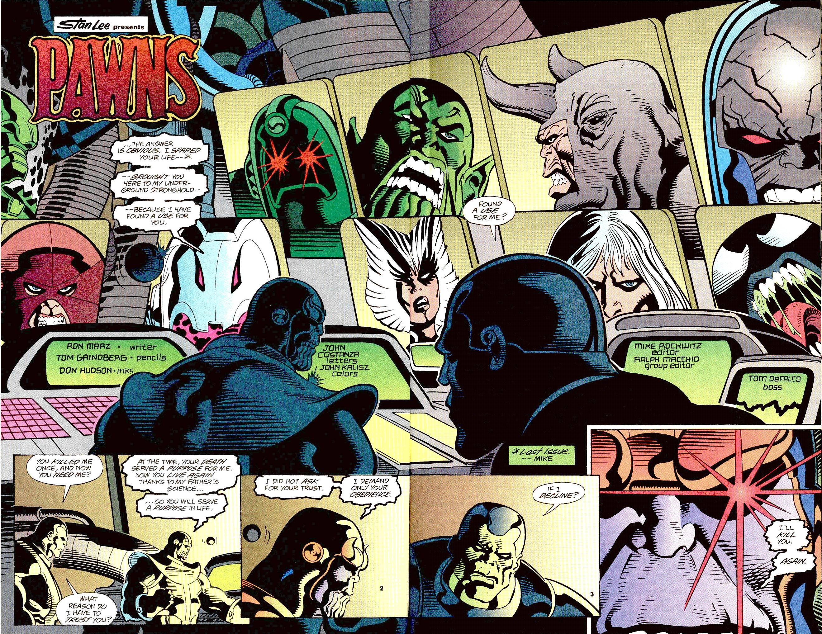 Read online Secret Defenders comic -  Issue #12 - 3