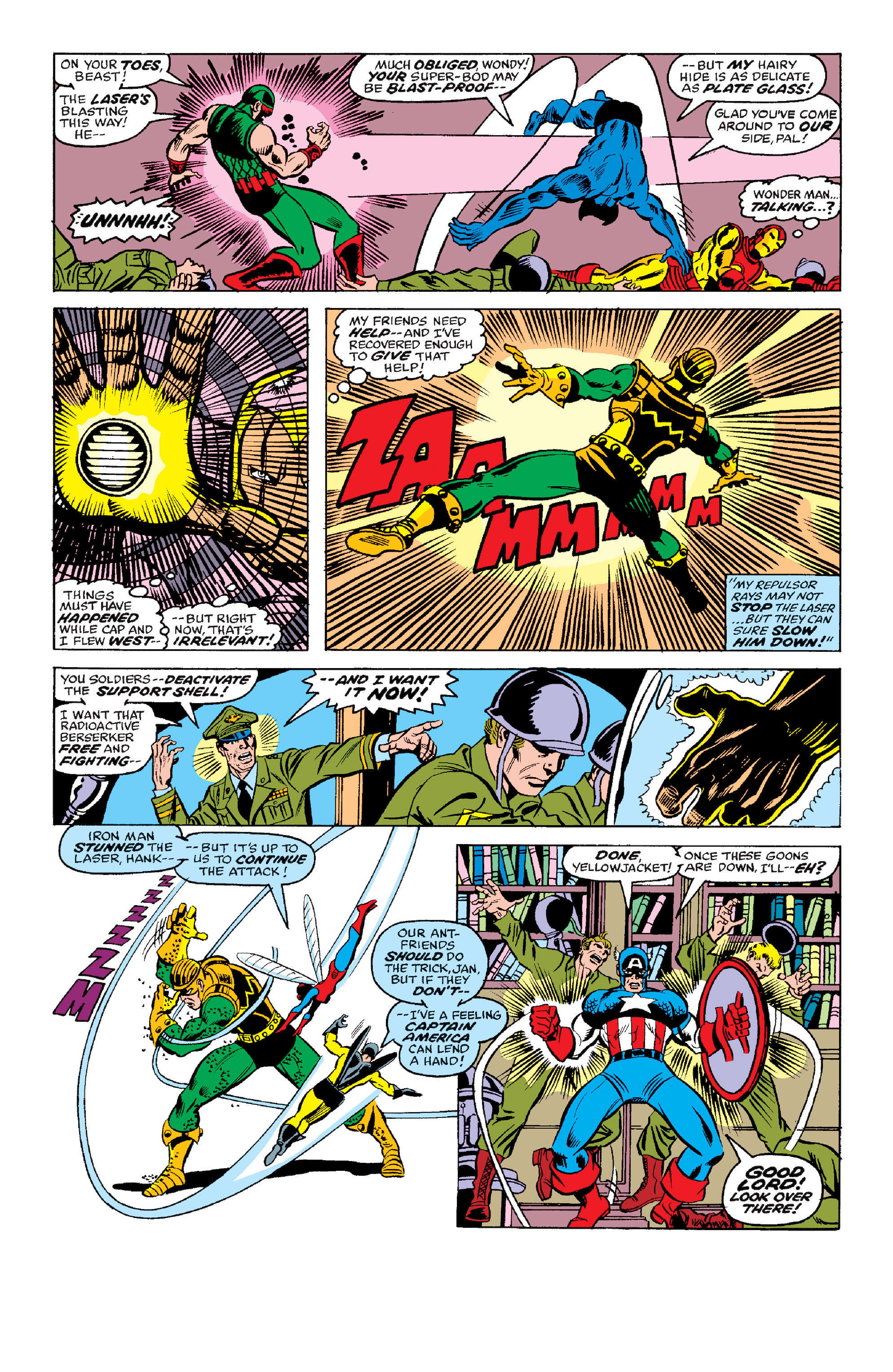 The Avengers (1963) _Annual_6 Page 20