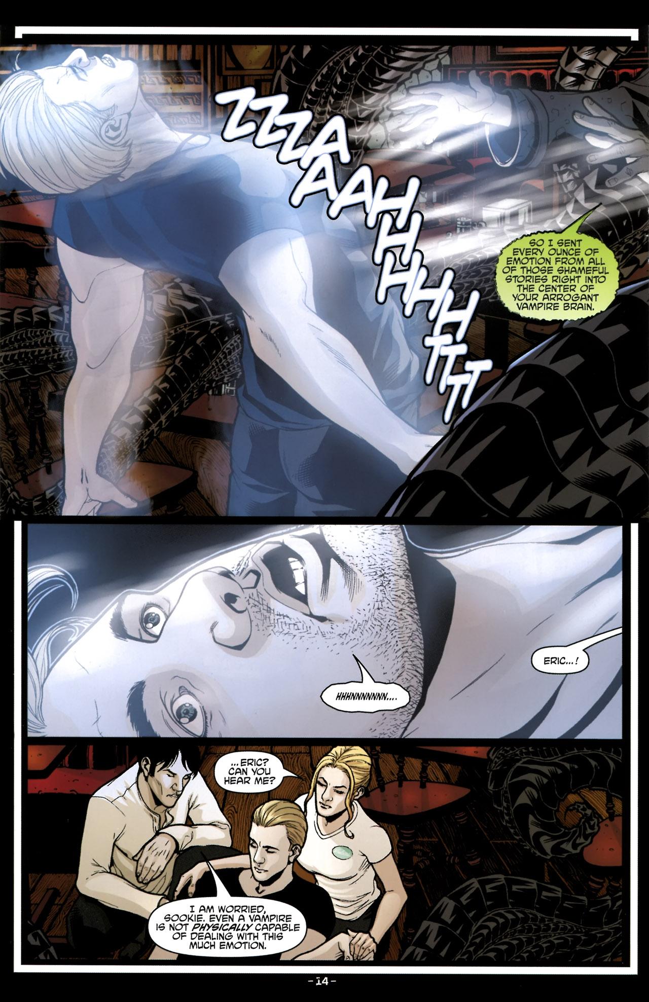 Read online True Blood (2010) comic -  Issue #6 - 17