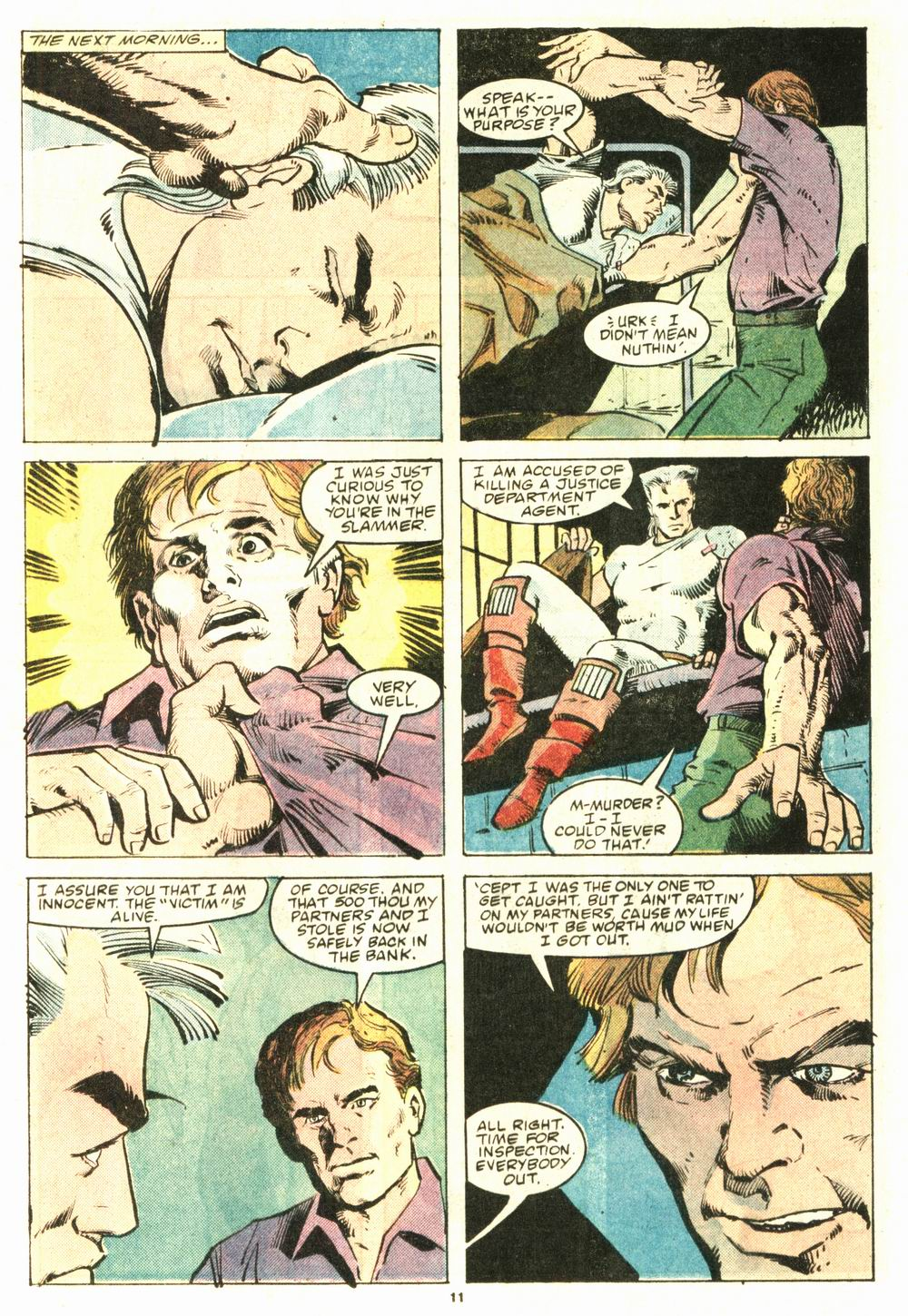 Read online Justice (1986) comic -  Issue #8 - 12
